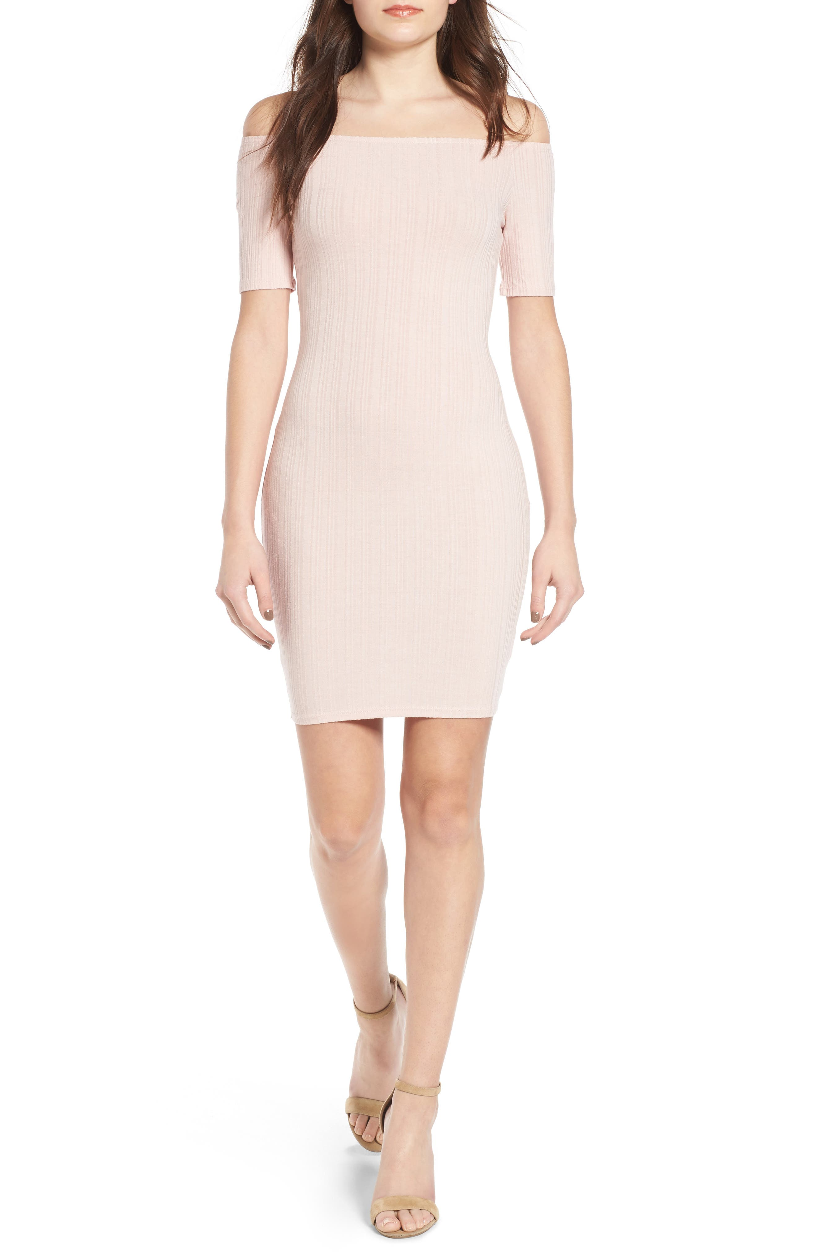 Alternate Image 1 Selected - Michelle by Comune Bellmead Off-the-Shoulder Dress