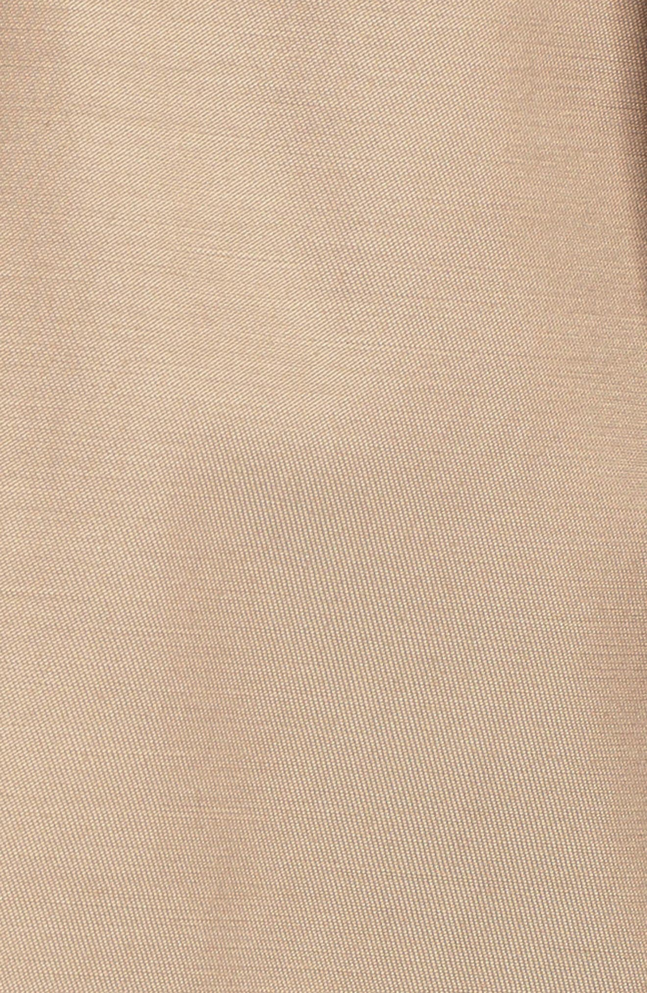 Alternate Image 5  - Halogen® Detachable Hood Trench Coat (Regular & Petite)