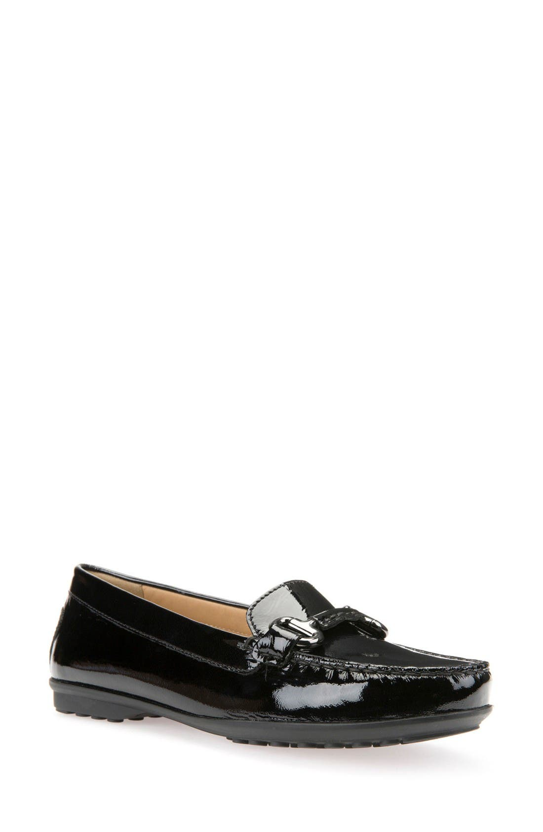 Alternate Image 1 Selected - Geox Elidia Bit Water Resistant Loafer (Women)