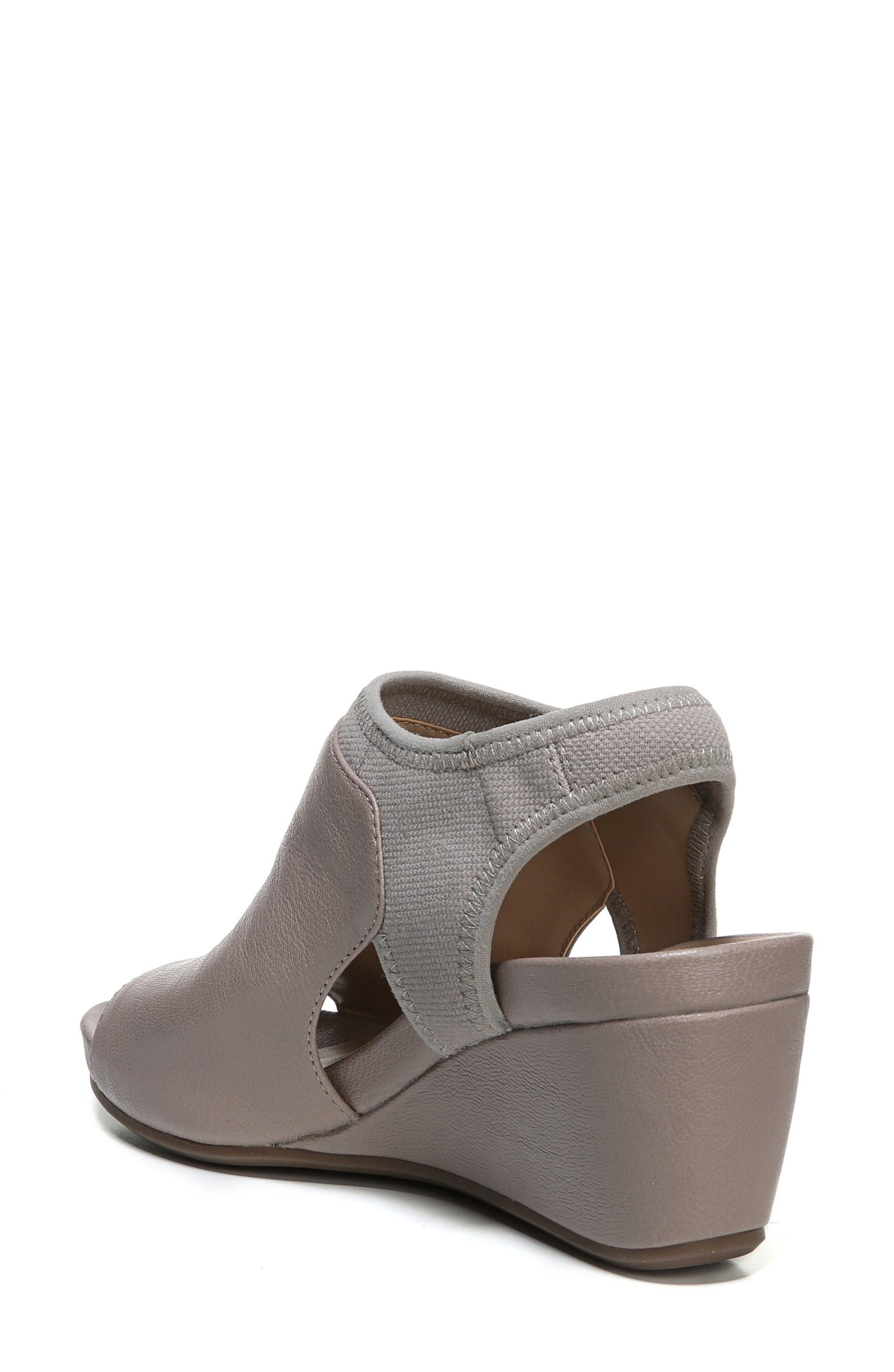 Cailla Shield Sandal,                             Alternate thumbnail 2, color,                             Grey Leather