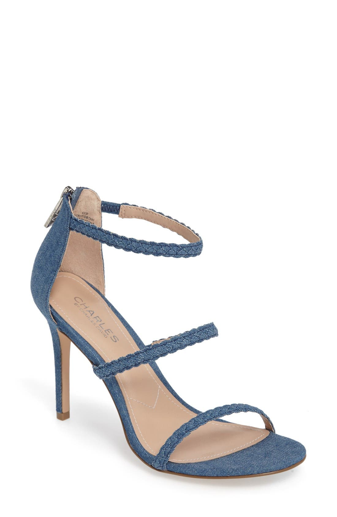 Alternate Image 1 Selected - Charles by Charles David Ria Strappy Sandal (Women)