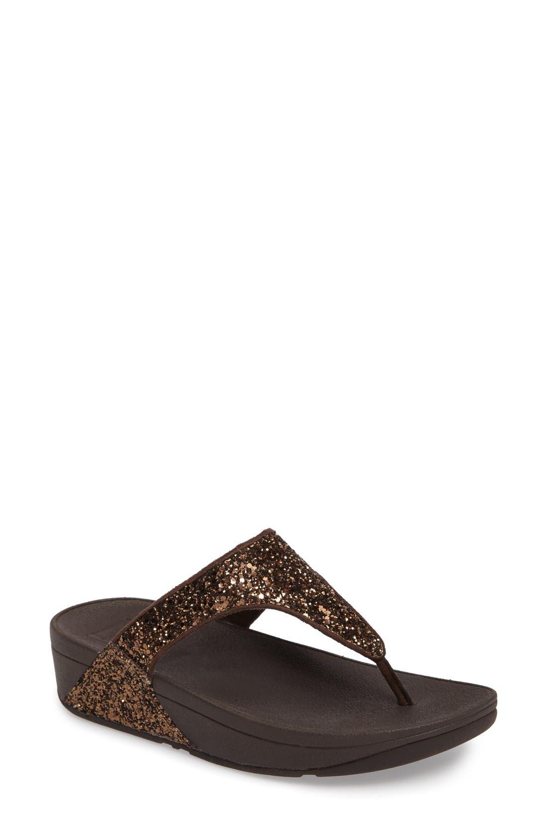 FitFlop Glitterball™ Thong Sandal (Women)