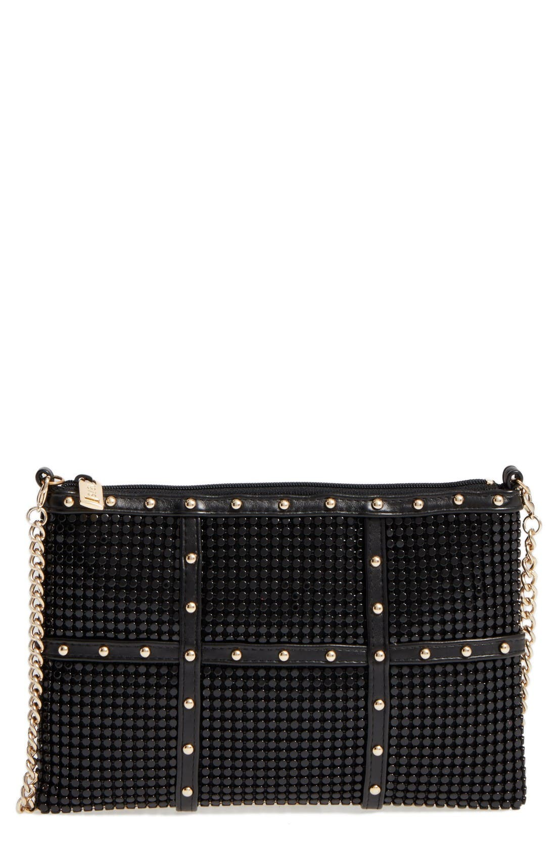 Alternate Image 1 Selected - Whiting & Davis Studded Crossbody Clutch