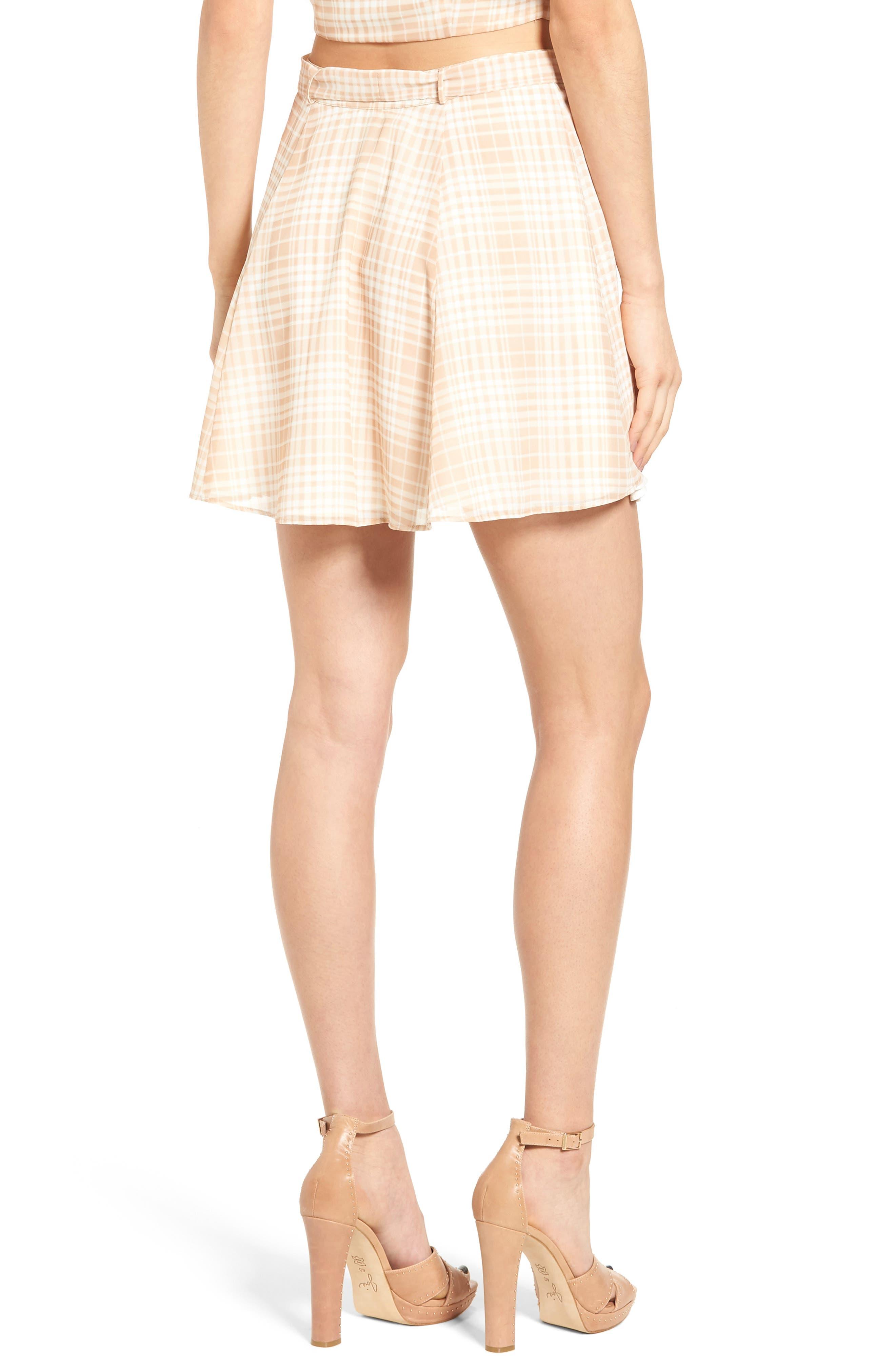 Dresden Skirt,                             Alternate thumbnail 3, color,                             Tan