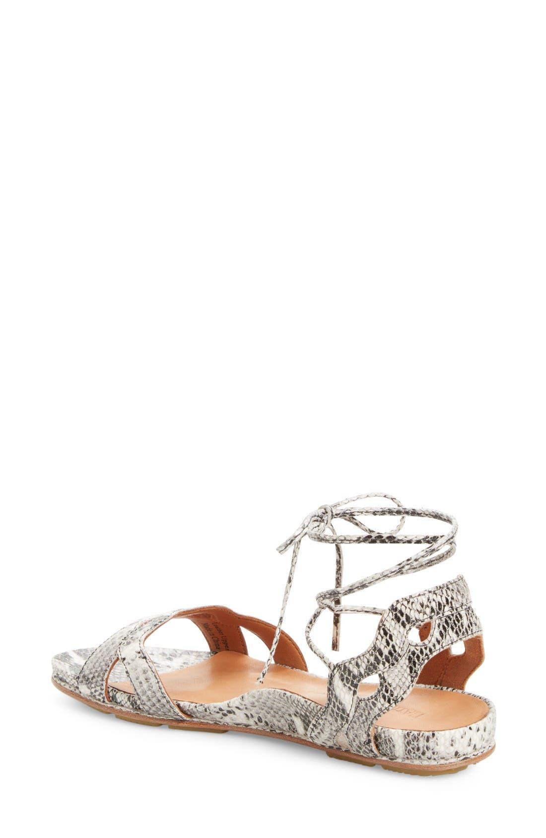 Alternate Image 2  - L'Amour des Pieds Darrylynn Wraparound Lace-Up Sandal (Women)