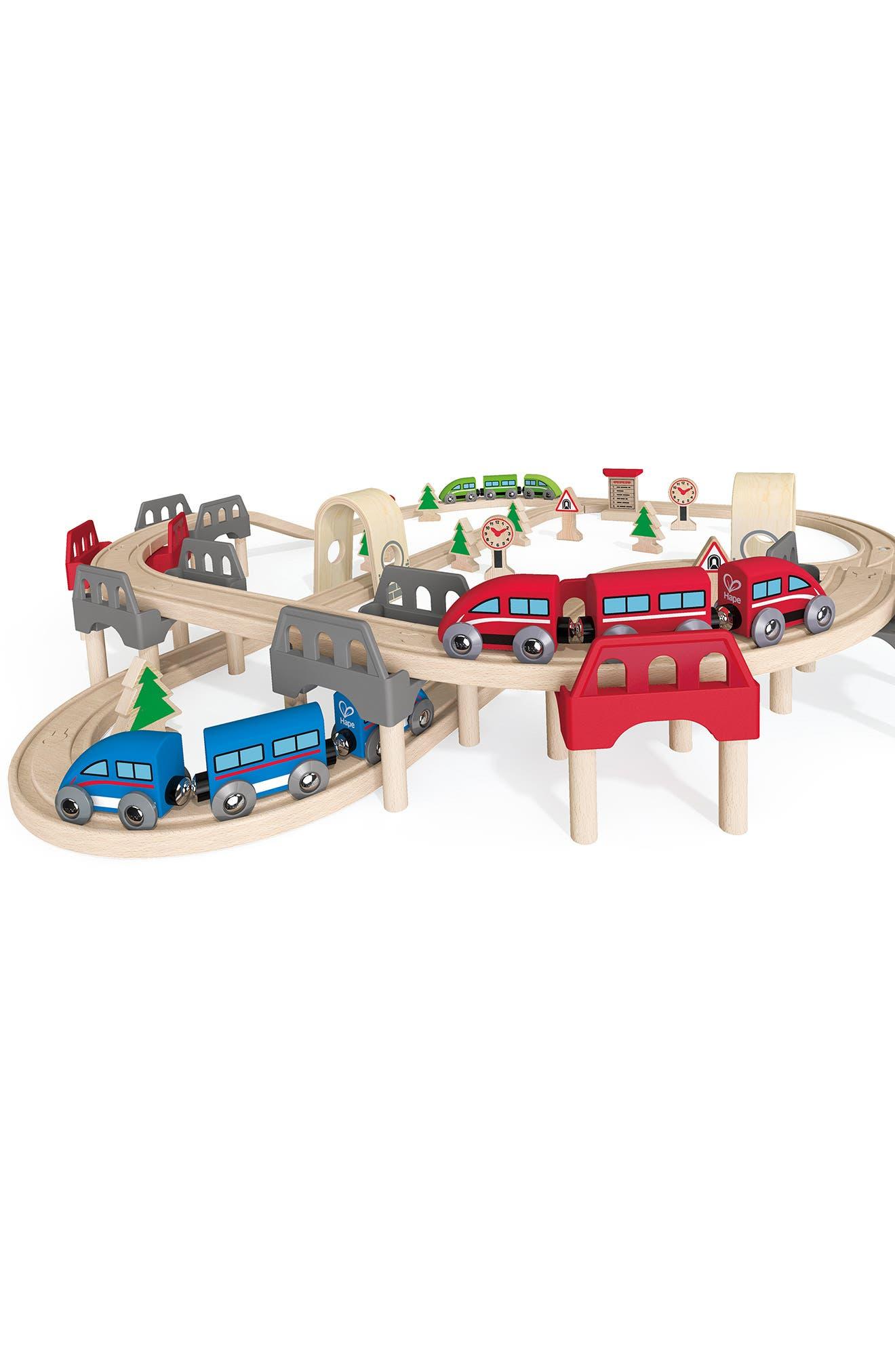 High & Low Railway Set,                             Alternate thumbnail 5, color,                             Multi