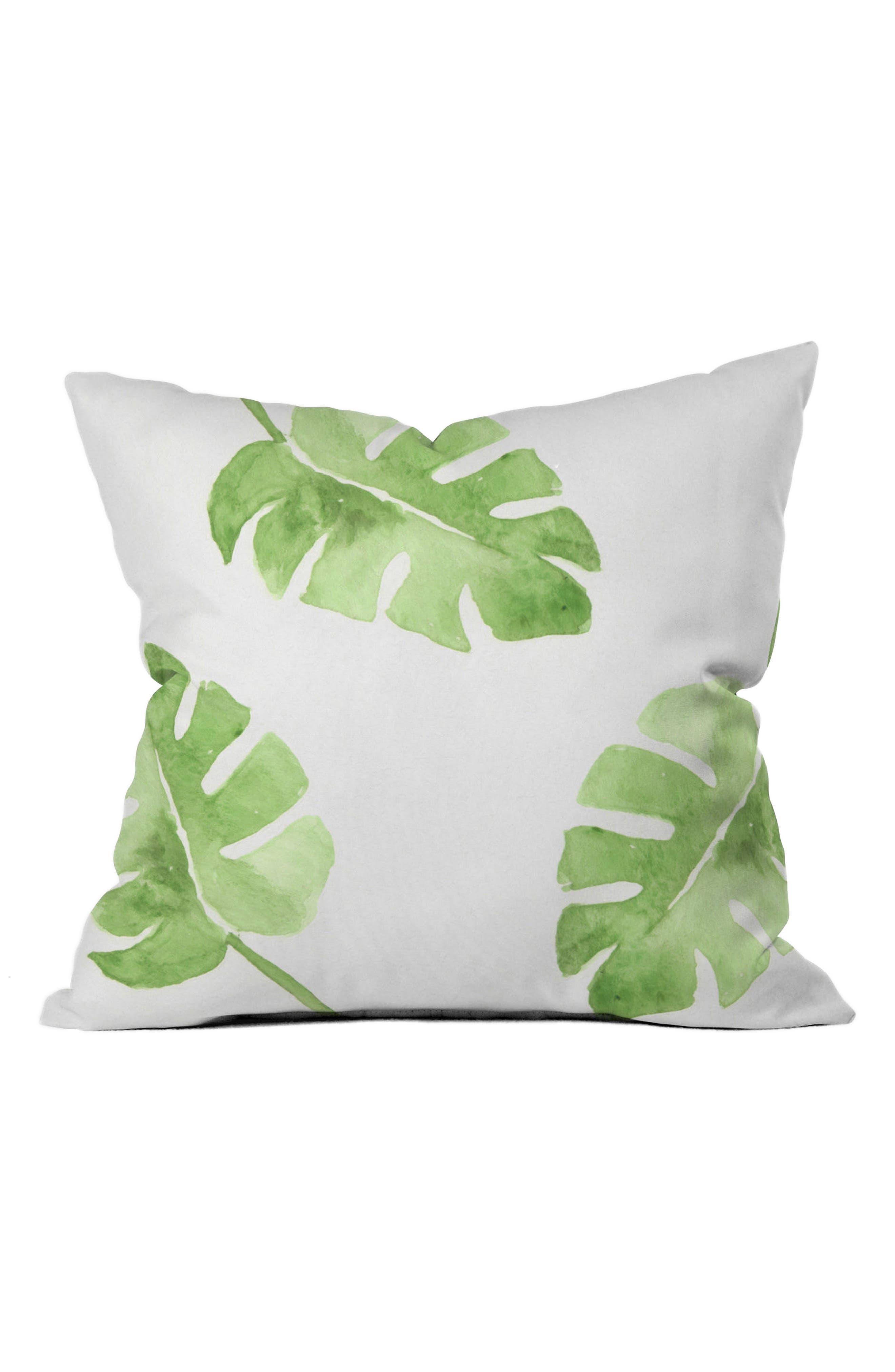 Wonder Forest Pillow,                             Main thumbnail 1, color,                             Green