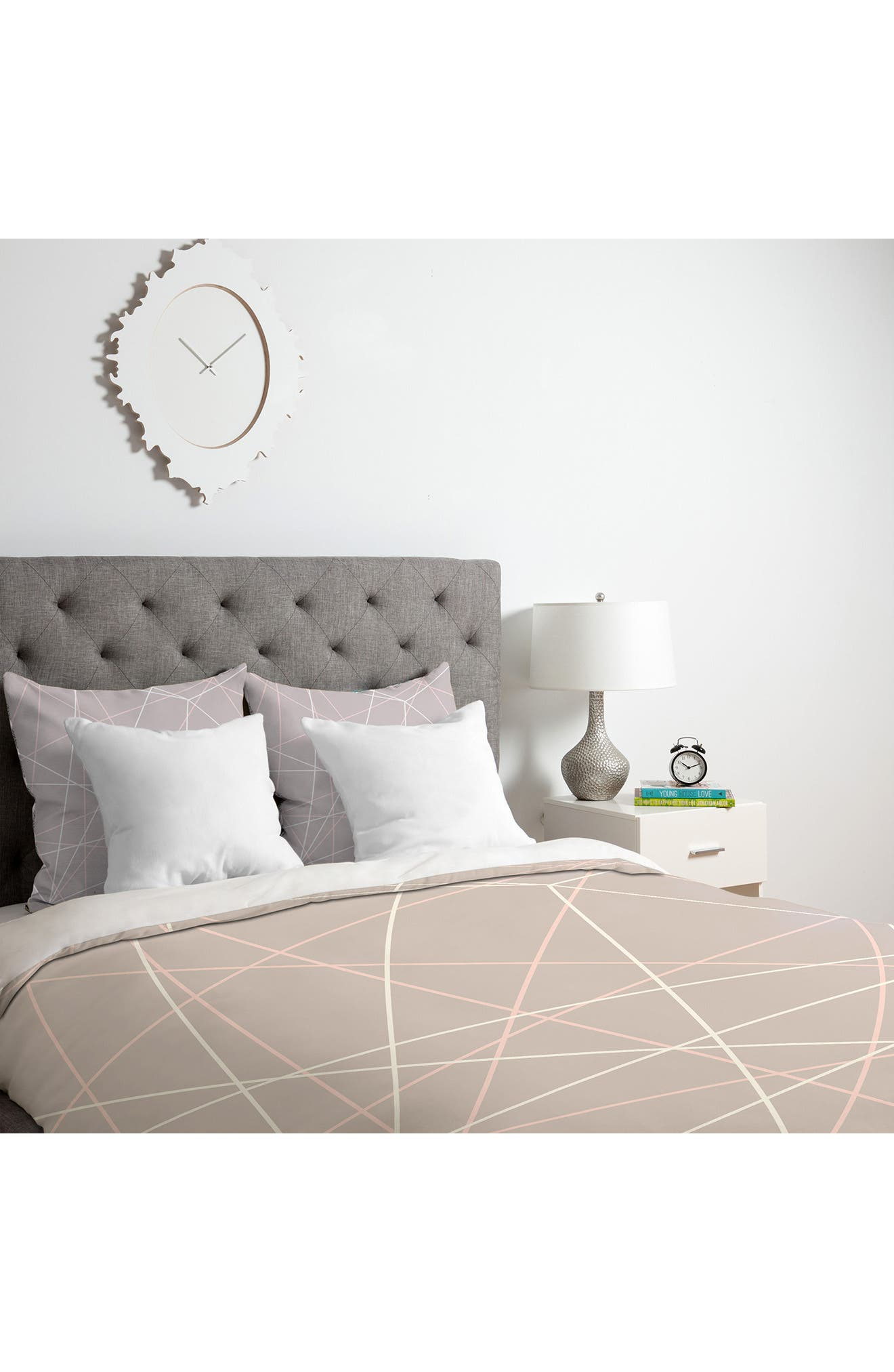 Alternate Image 3  - Deny Designs Pastel Lines Duvet Cover & Sham Set