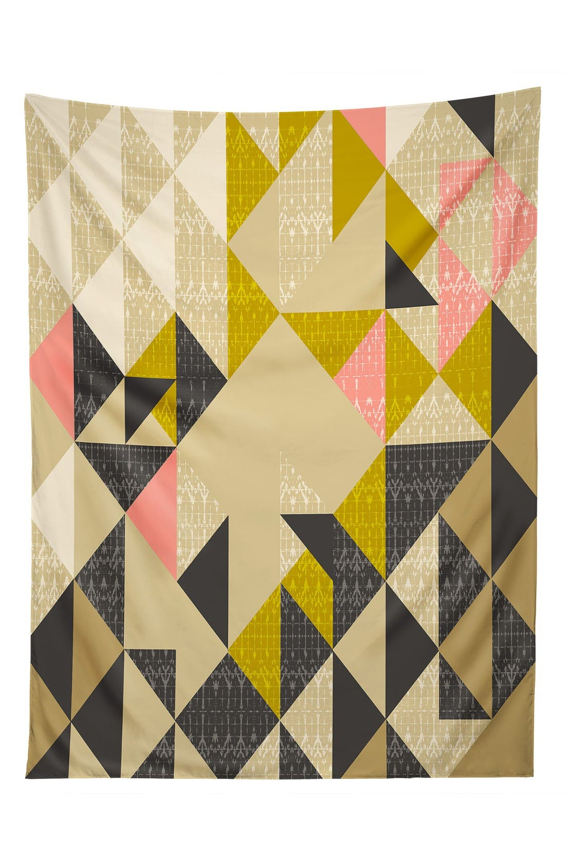 Nomad Quilt Tapestry,                         Main,                         color, Yellow/ Multi