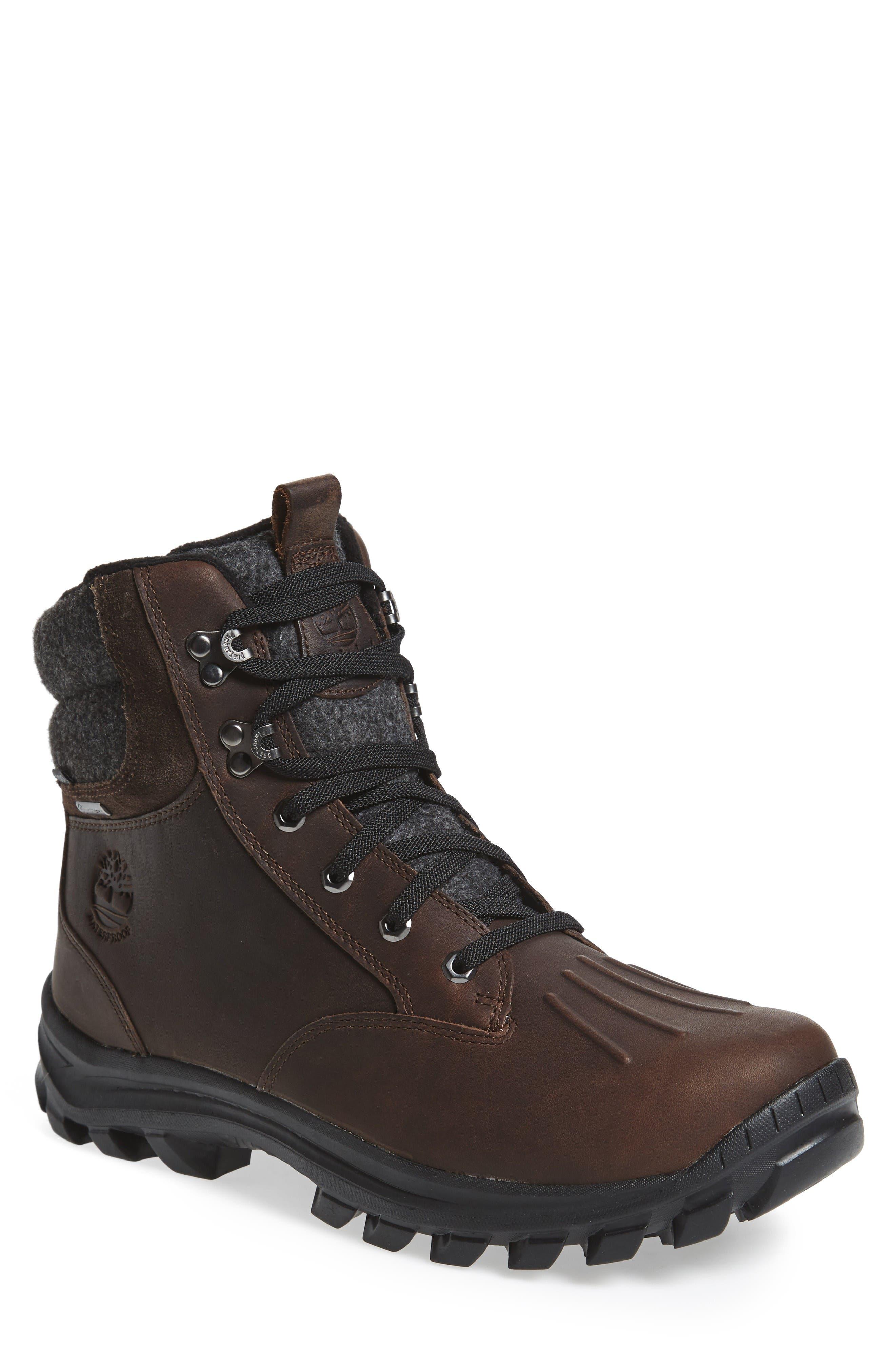 Main Image - Timberland Chillberg Mid Waterproof Snow Boot (Men)