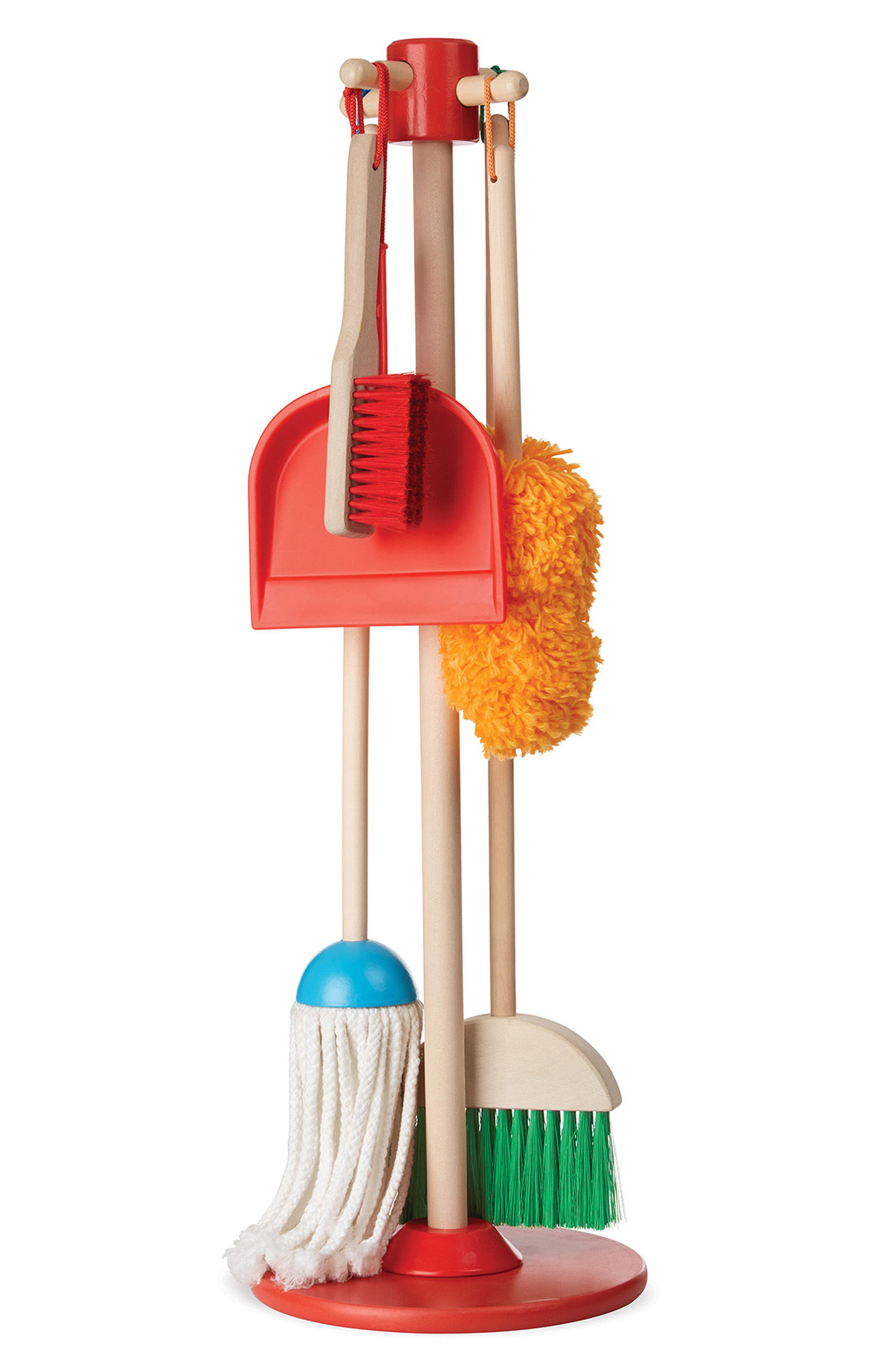 Dust, Sweep & Mop Toy Set,                             Alternate thumbnail 2, color,                             No Color