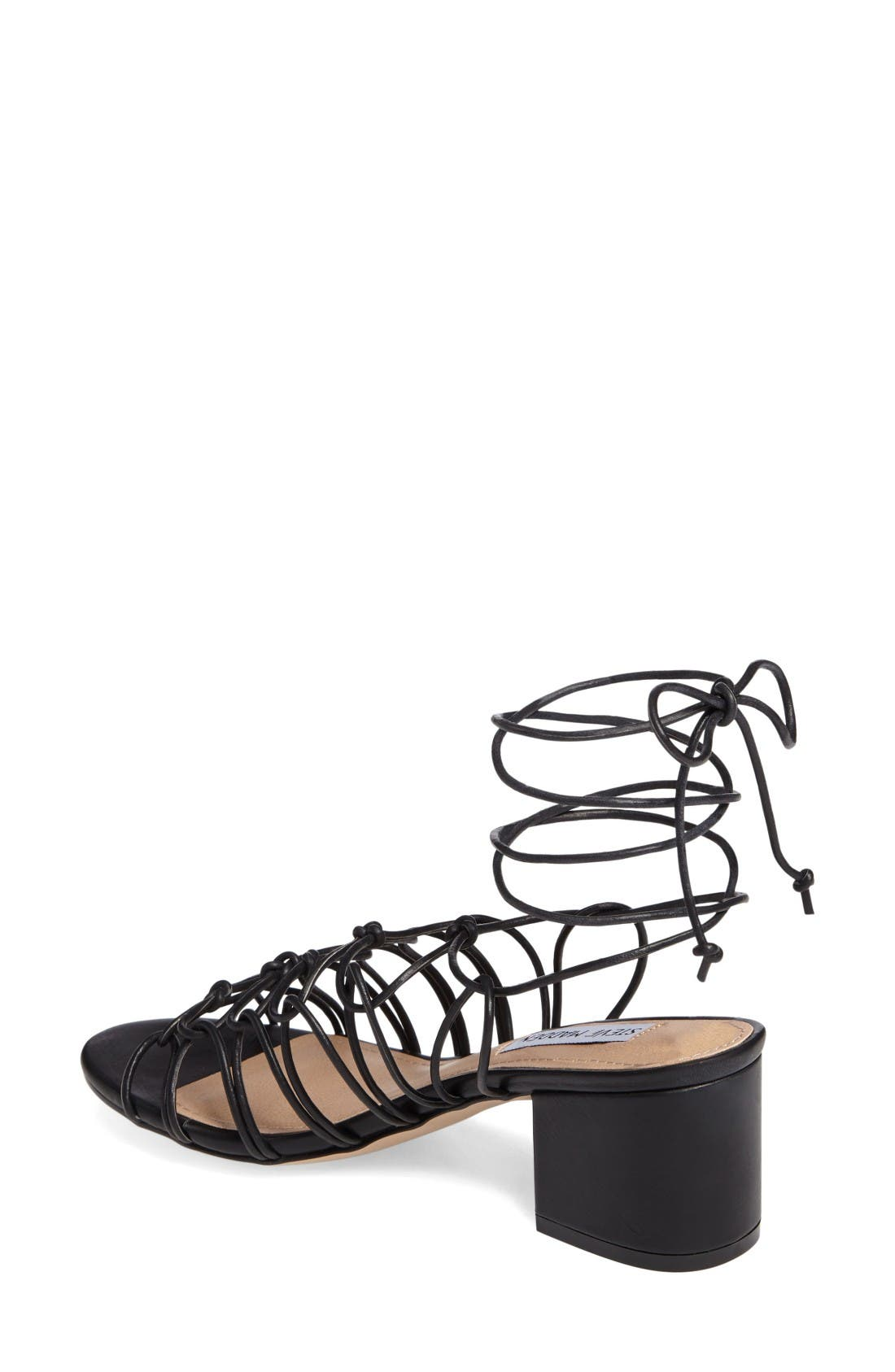 Alternate Image 2  - Steve Madden Illie Knotted Lace Sandal (Women)