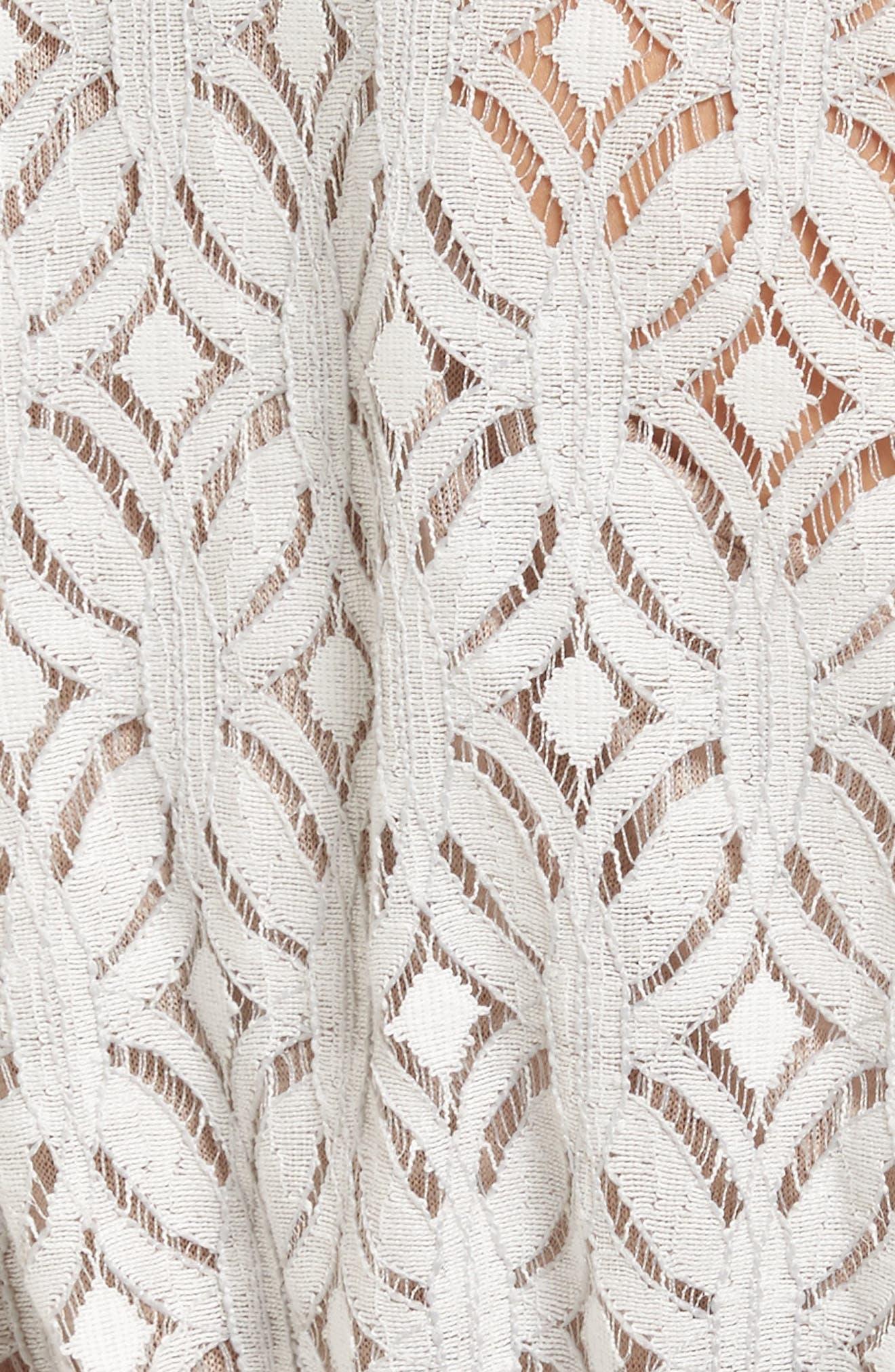 Alternate Image 5  - NIC+ZOE Lush Lace Coat