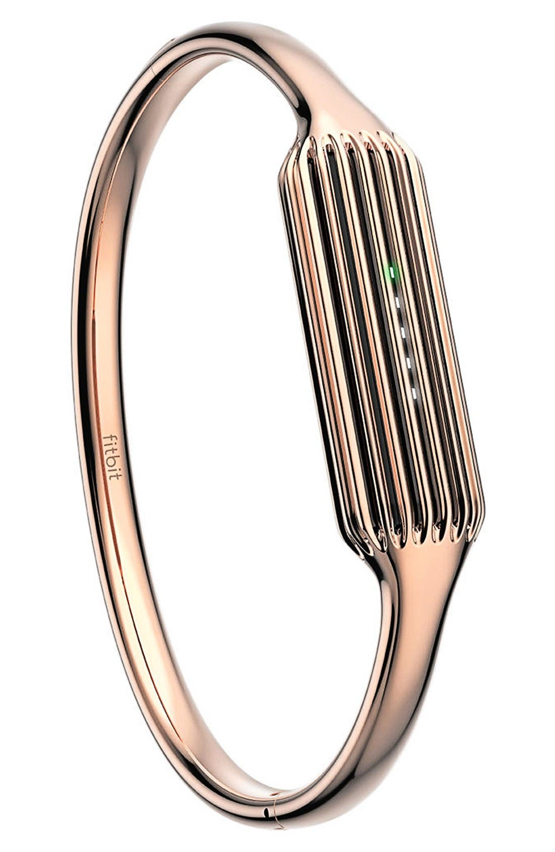 Flex 2 Small Bangle Accessory,                             Alternate thumbnail 3, color,                             Rose Gold