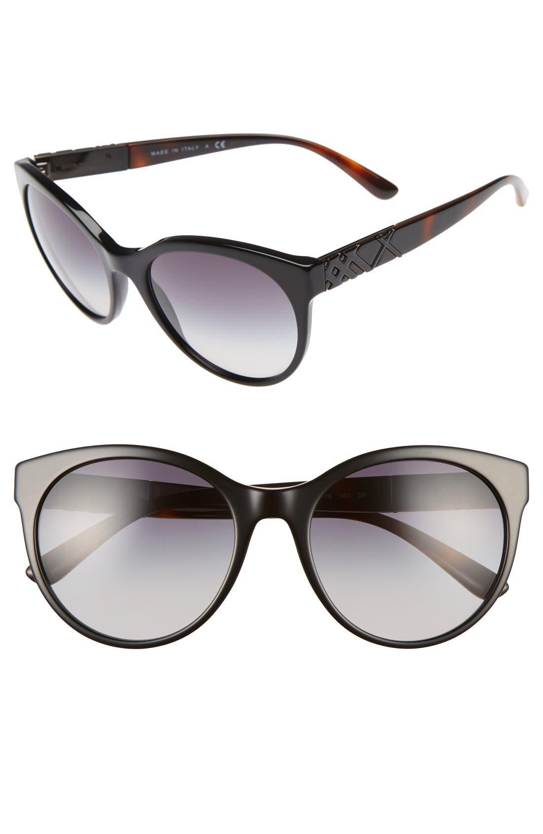 Burberry 56mm Retro Sunglasses