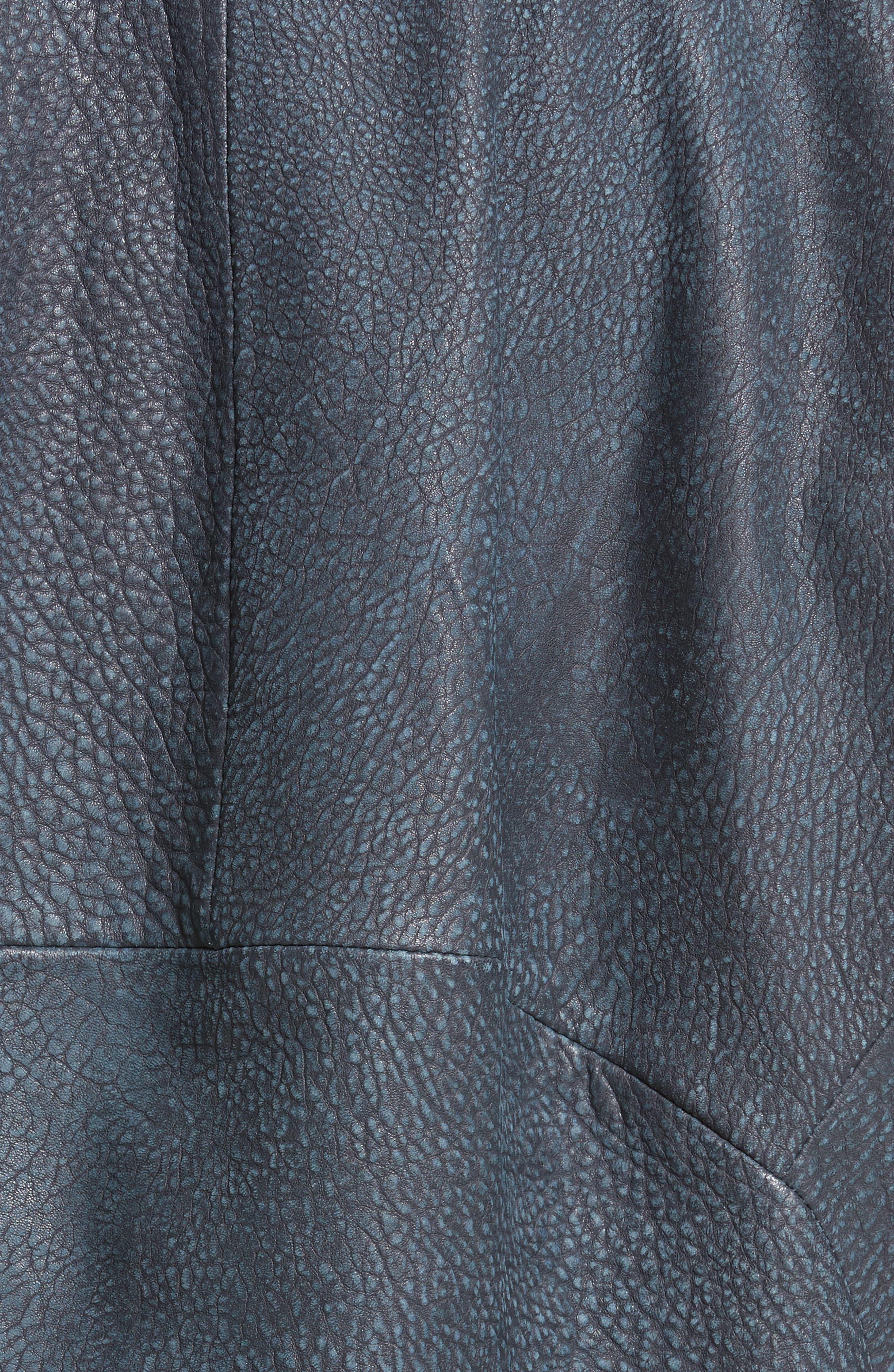 Alternate Image 3  - Zero + Maria Cornejo Osita Leather Bomber Jacket