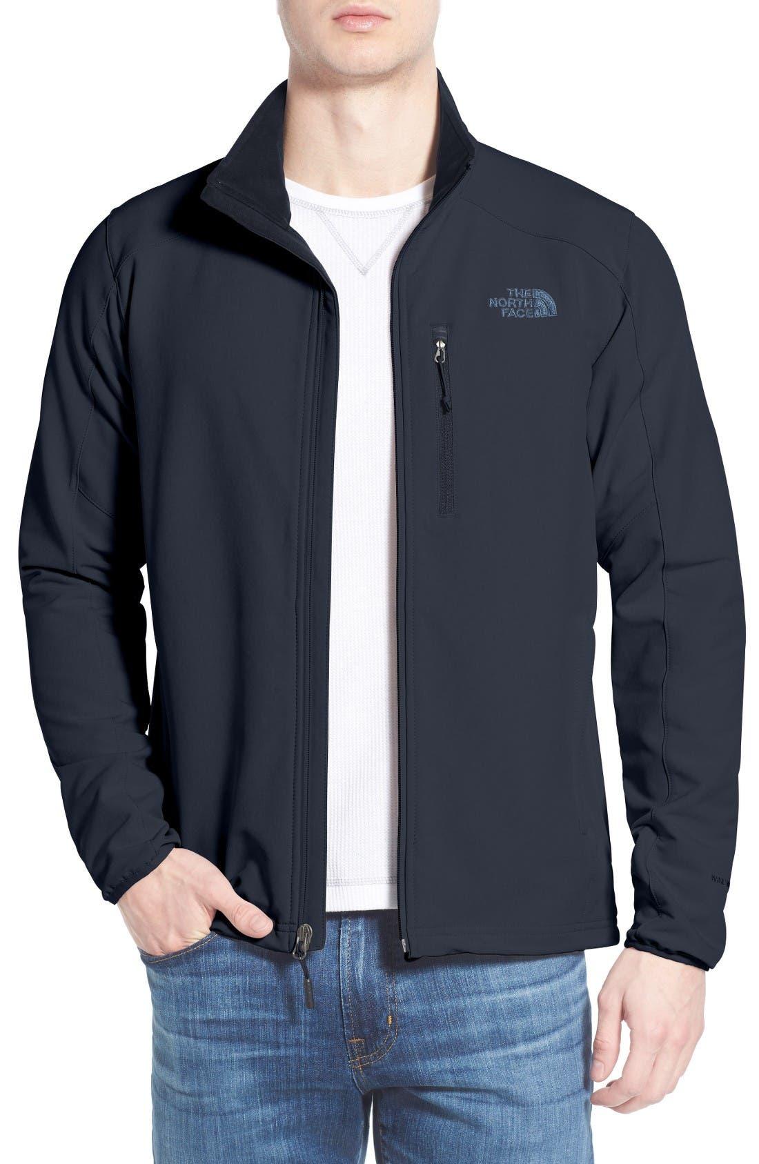 Apex Pneumatic Jacket,                         Main,                         color, Urban Navy/ Urban Navy