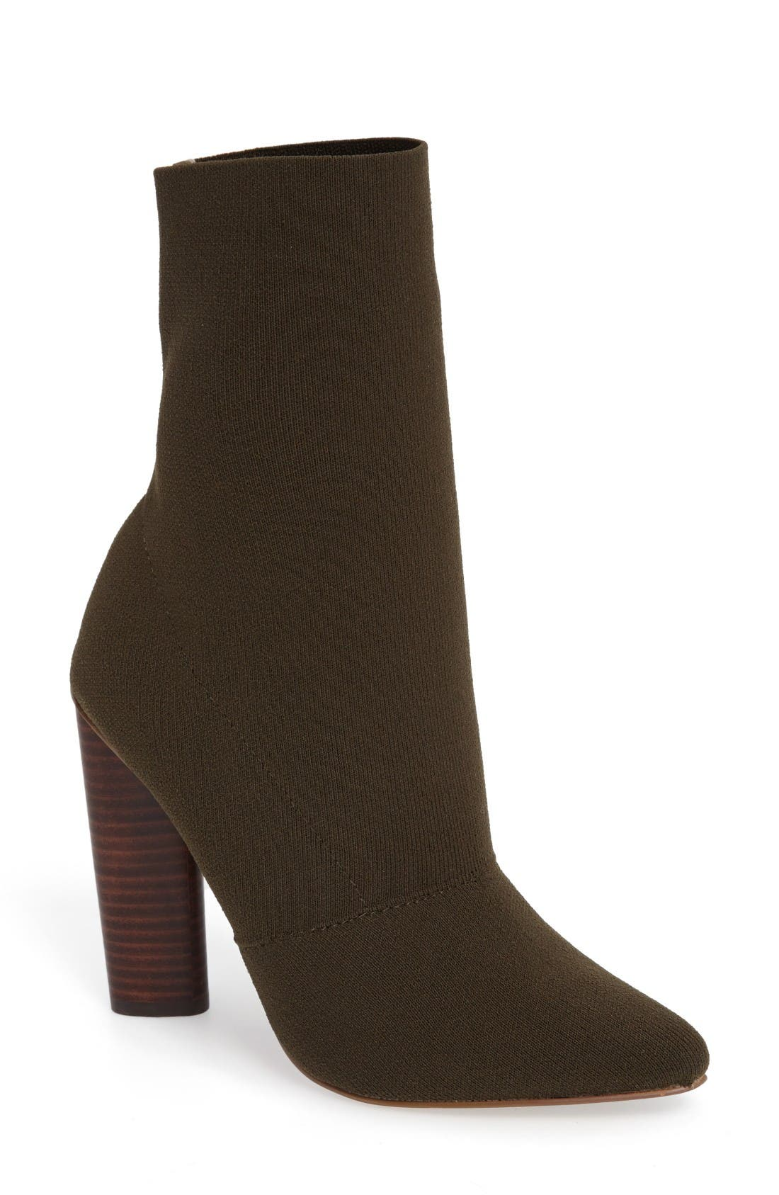 Alternate Image 1 Selected - Steve Madden Capitol Stretch Bootie (Women)