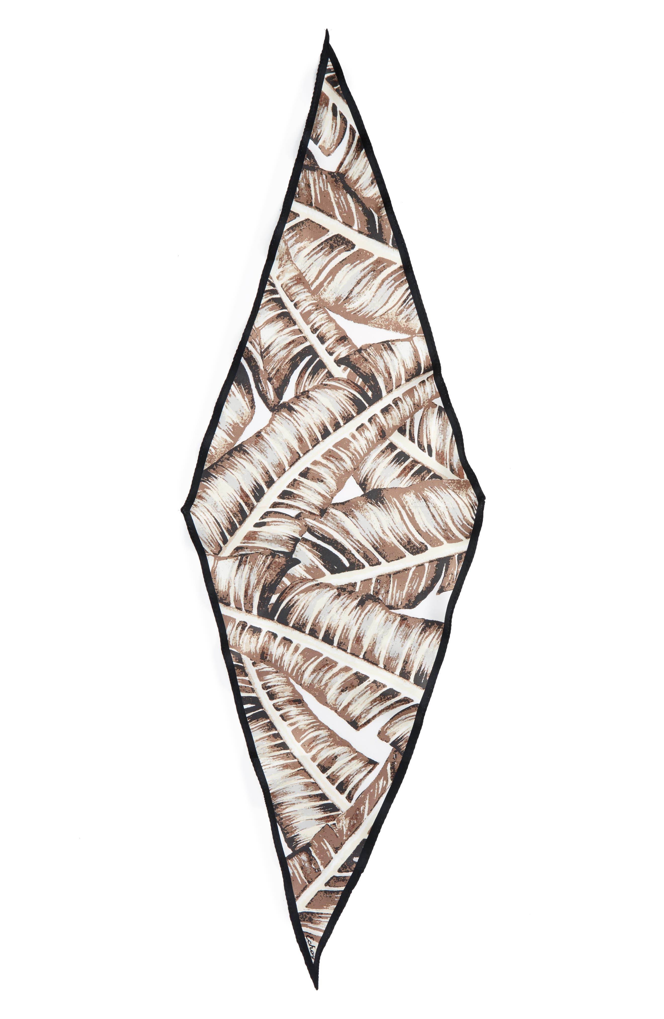 Alternate Image 2  - Echo Palm Silk Scarf