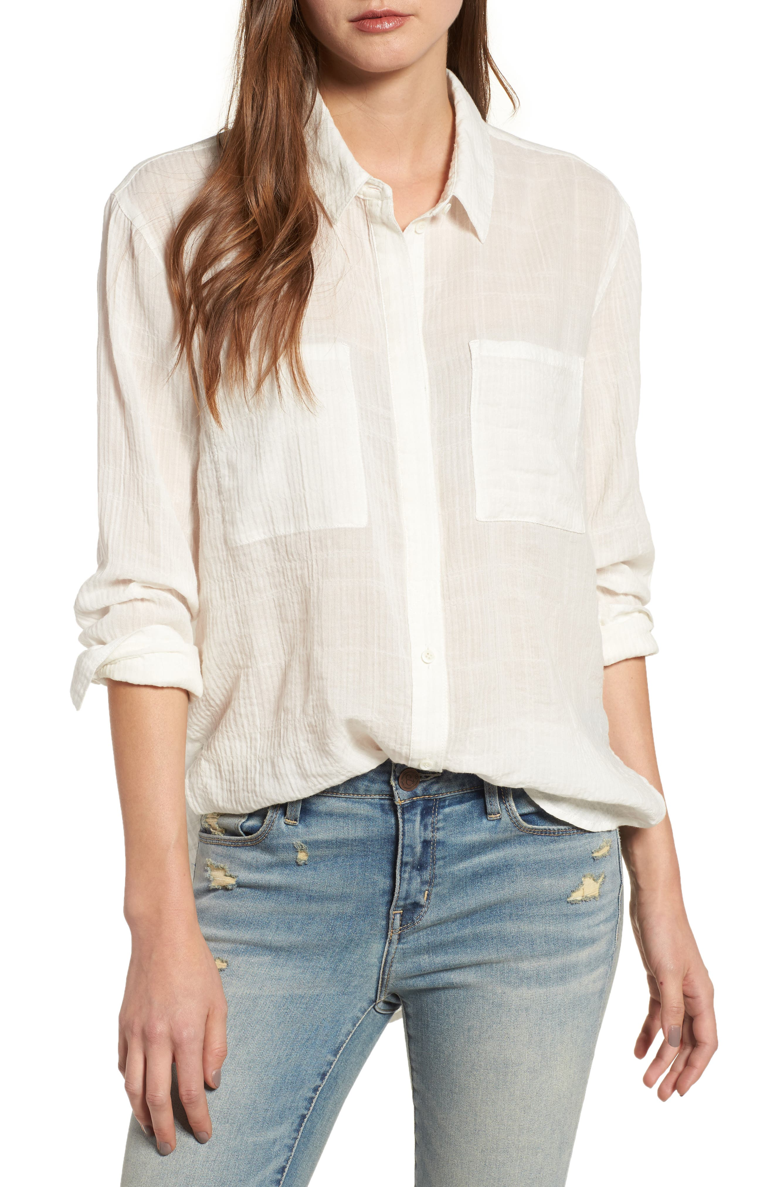Main Image - Treasure & Bond Crinkle Shirt
