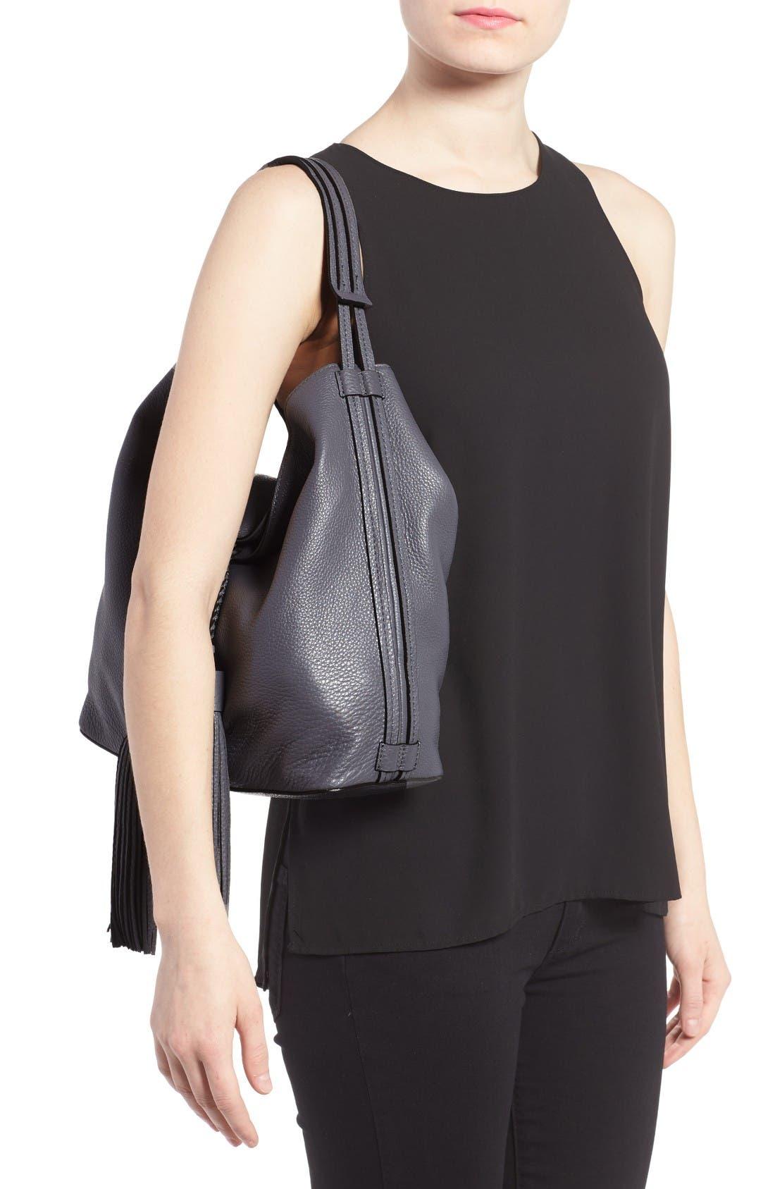 Alternate Image 2  - Rebecca Minkoff Isobel Tassel Leather Hobo