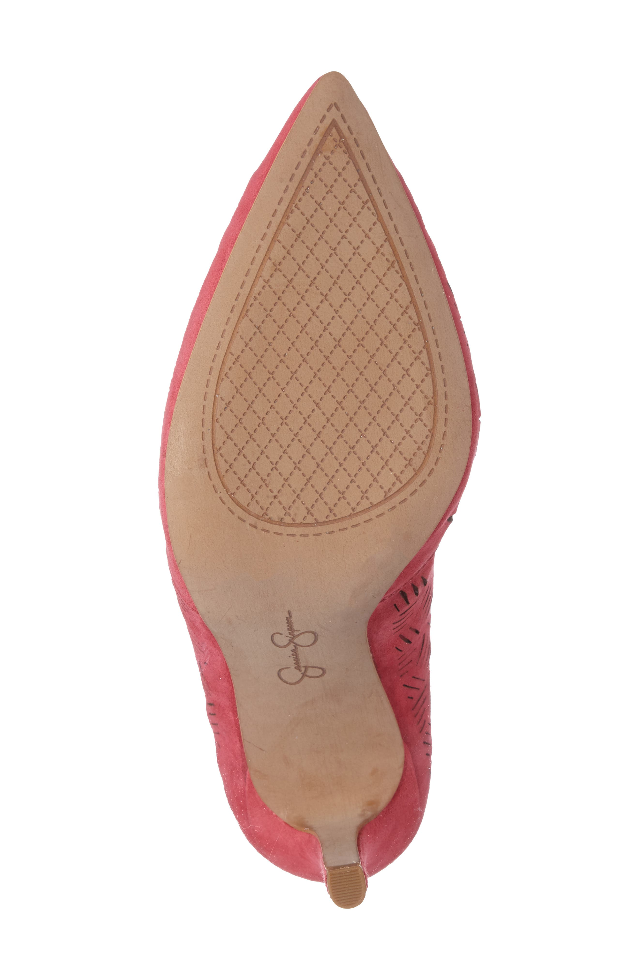 Alternate Image 4  - Jessica Simpson Charie Pointy Toe d'Orsay Pump (Women)