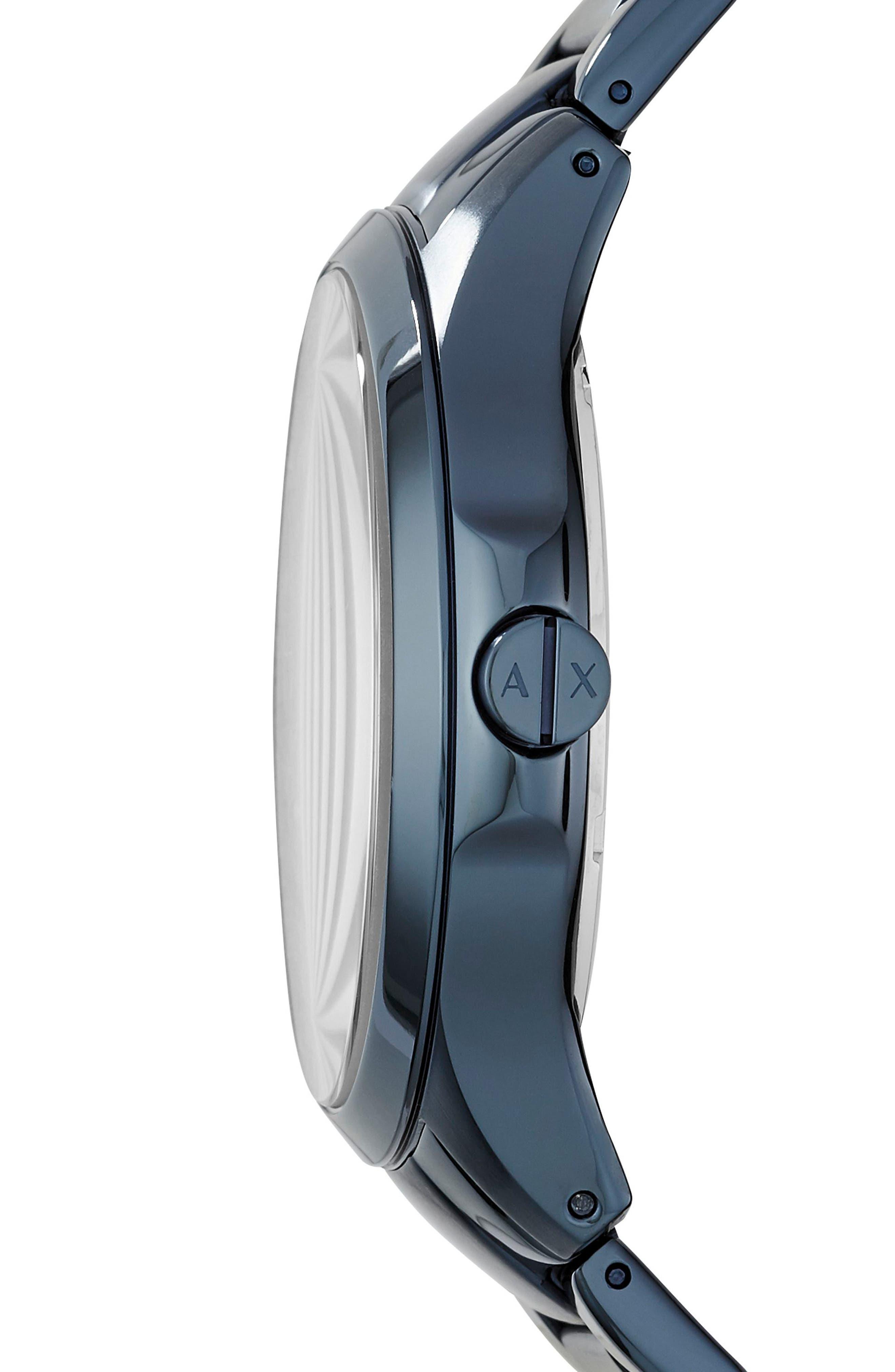 Bracelet Watch, 46mm,                             Alternate thumbnail 2, color,                             Blue