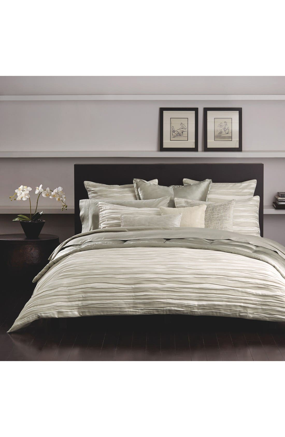 Tidal Duvet Cover by Donna Karan New York
