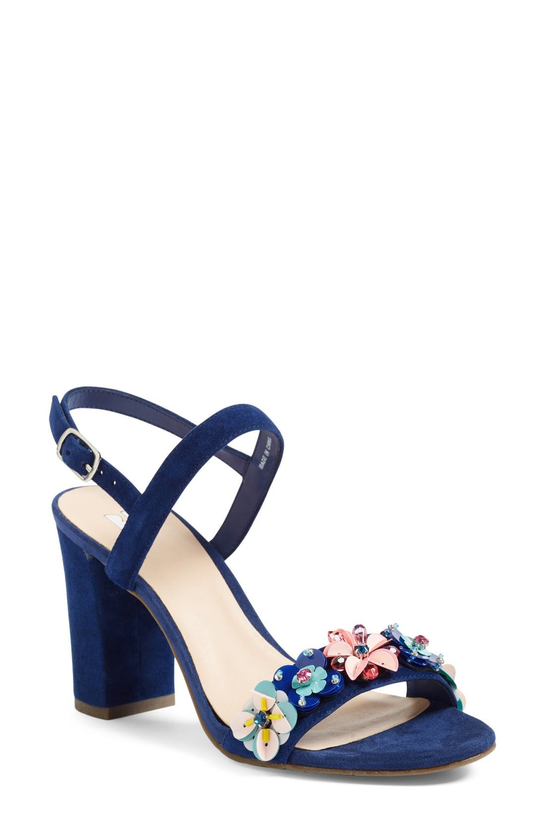 Alternate Image 1 Selected - BP. Lula Block Heel Slingback Sandal (Women)