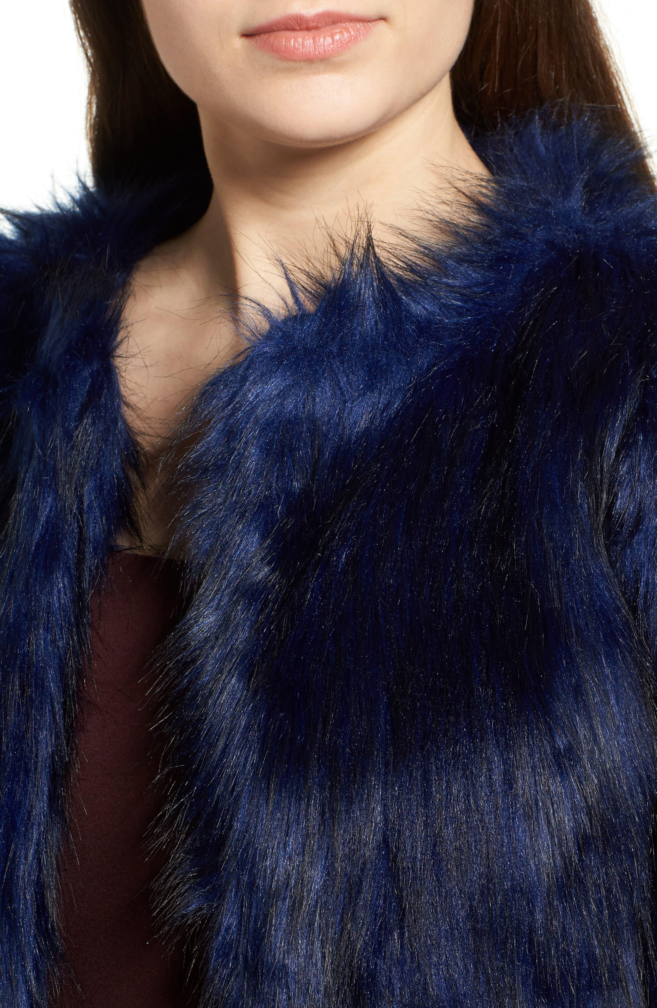 Alternate Image 4  - Fire Faux Fur Jacket