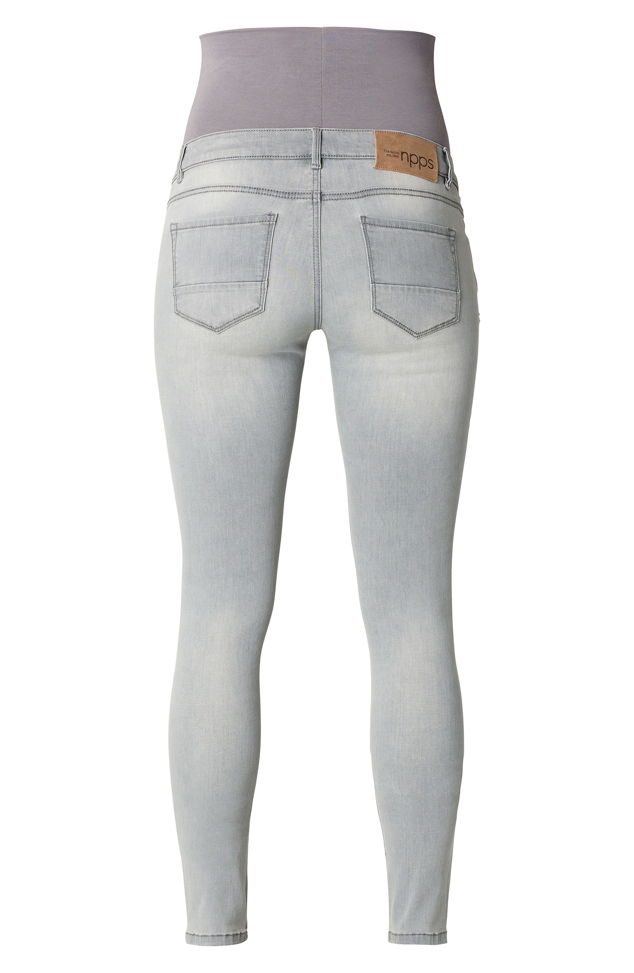Alternate Image 2  - Noppies Iva Skinny Maternity Jeans