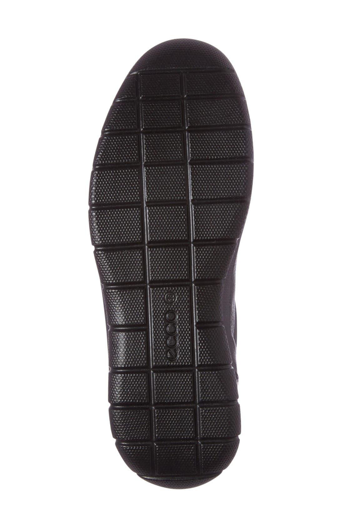 Babett II Slip-On,                             Alternate thumbnail 4, color,                             Black Leather
