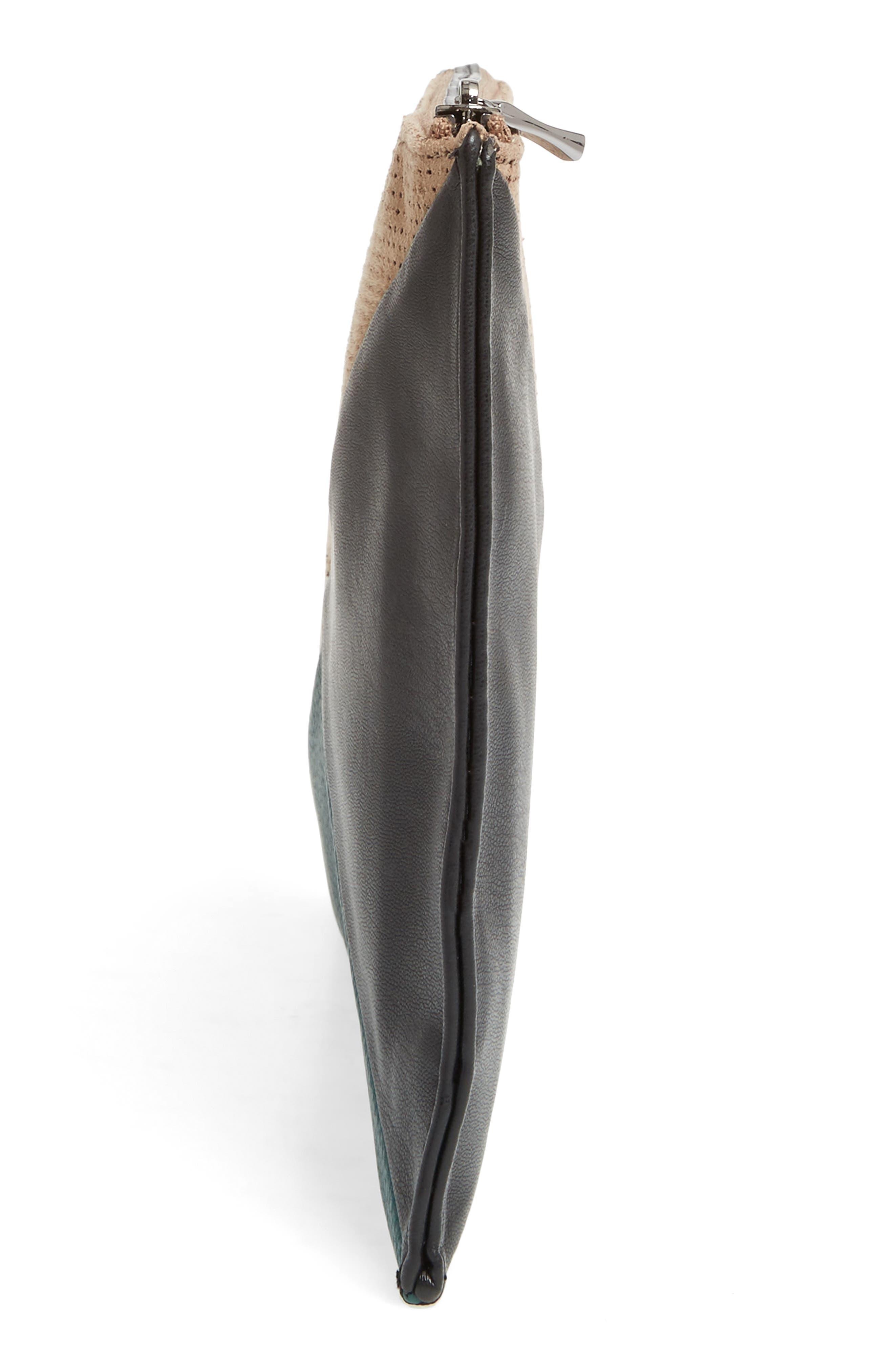 Alternate Image 5  - Sole Society Steph Patchwork Clutch