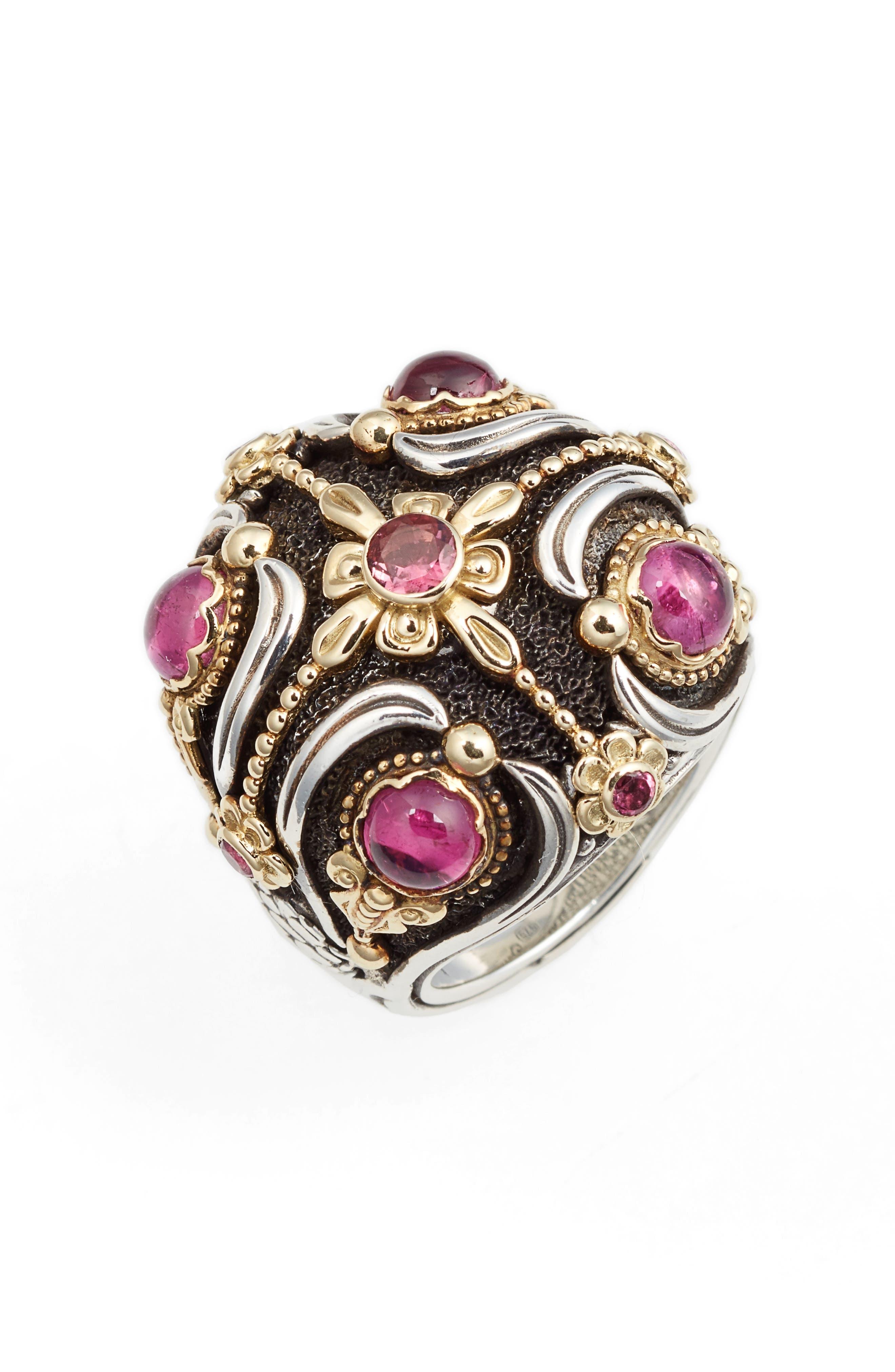 Nemesis Statement Ring,                         Main,                         color, Pink Tourmaline