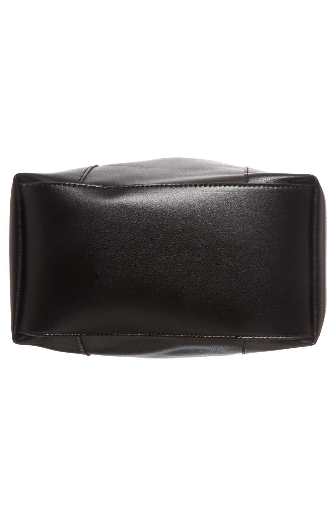Alternate Image 6  - Sole Society Jocelynn Faux Leather Bucket Bag