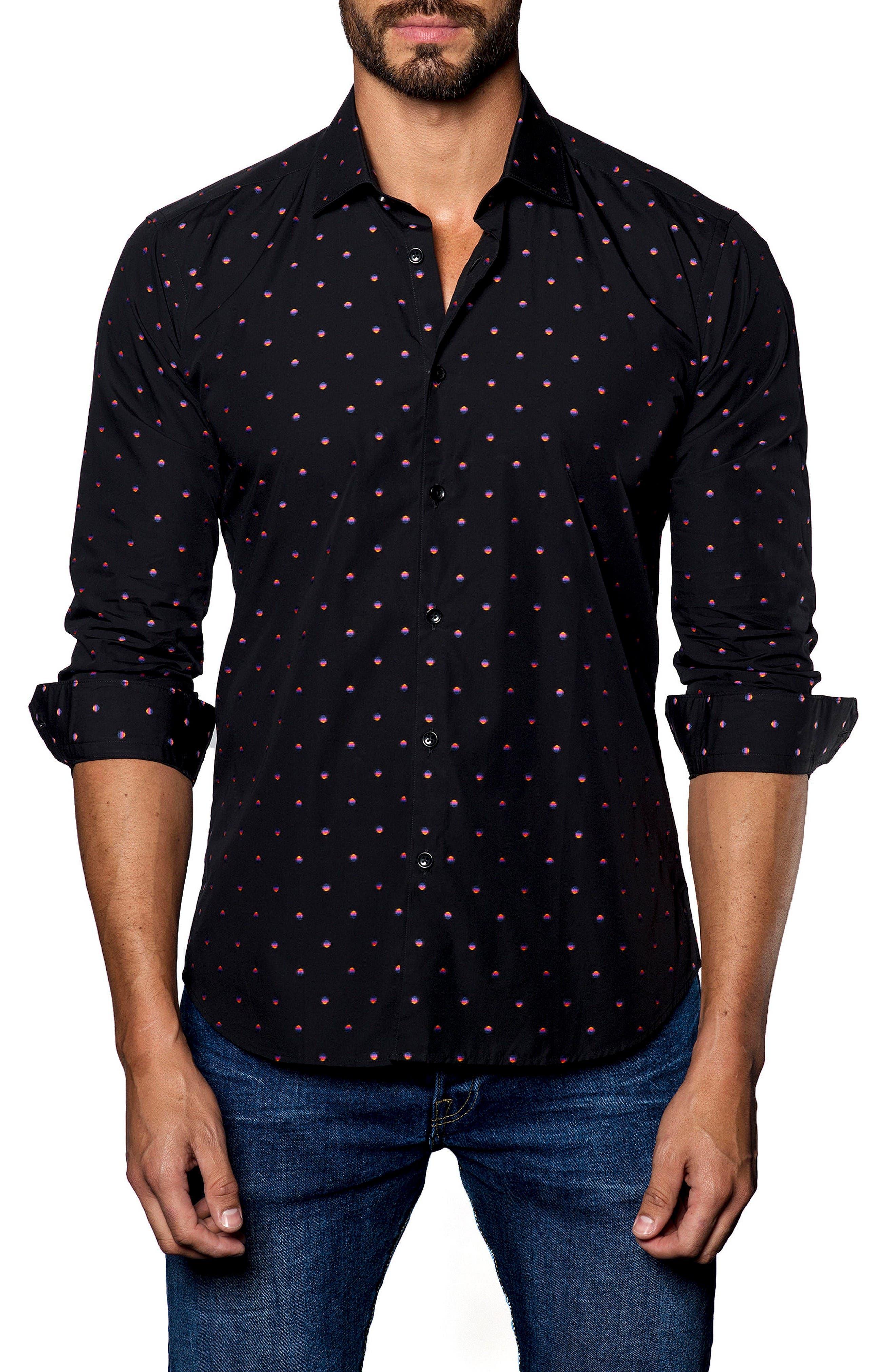 Sport Shirt,                         Main,                         color, Black