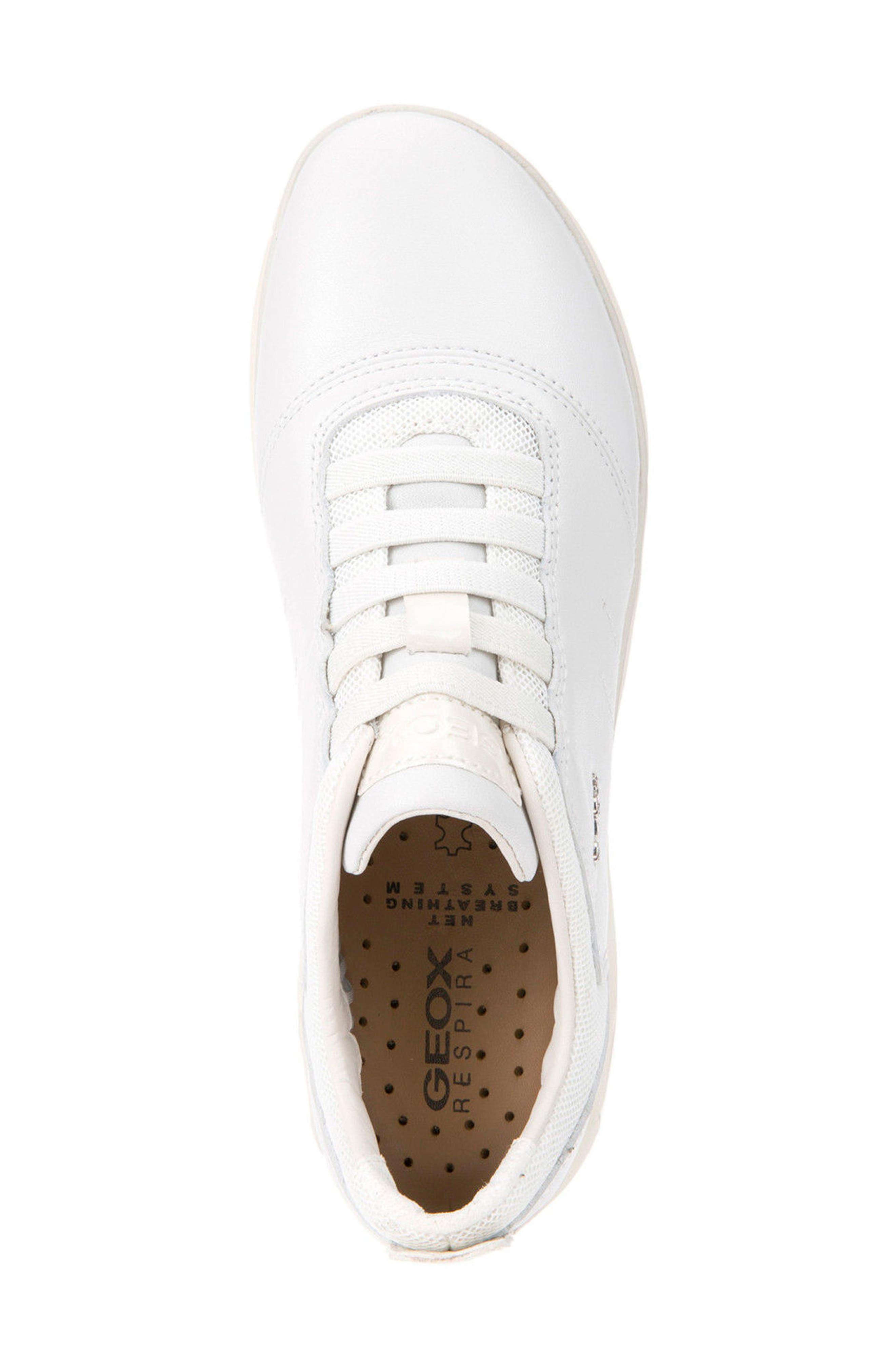 Nebula Slip-On Sneaker,                             Alternate thumbnail 3, color,                             White Leather
