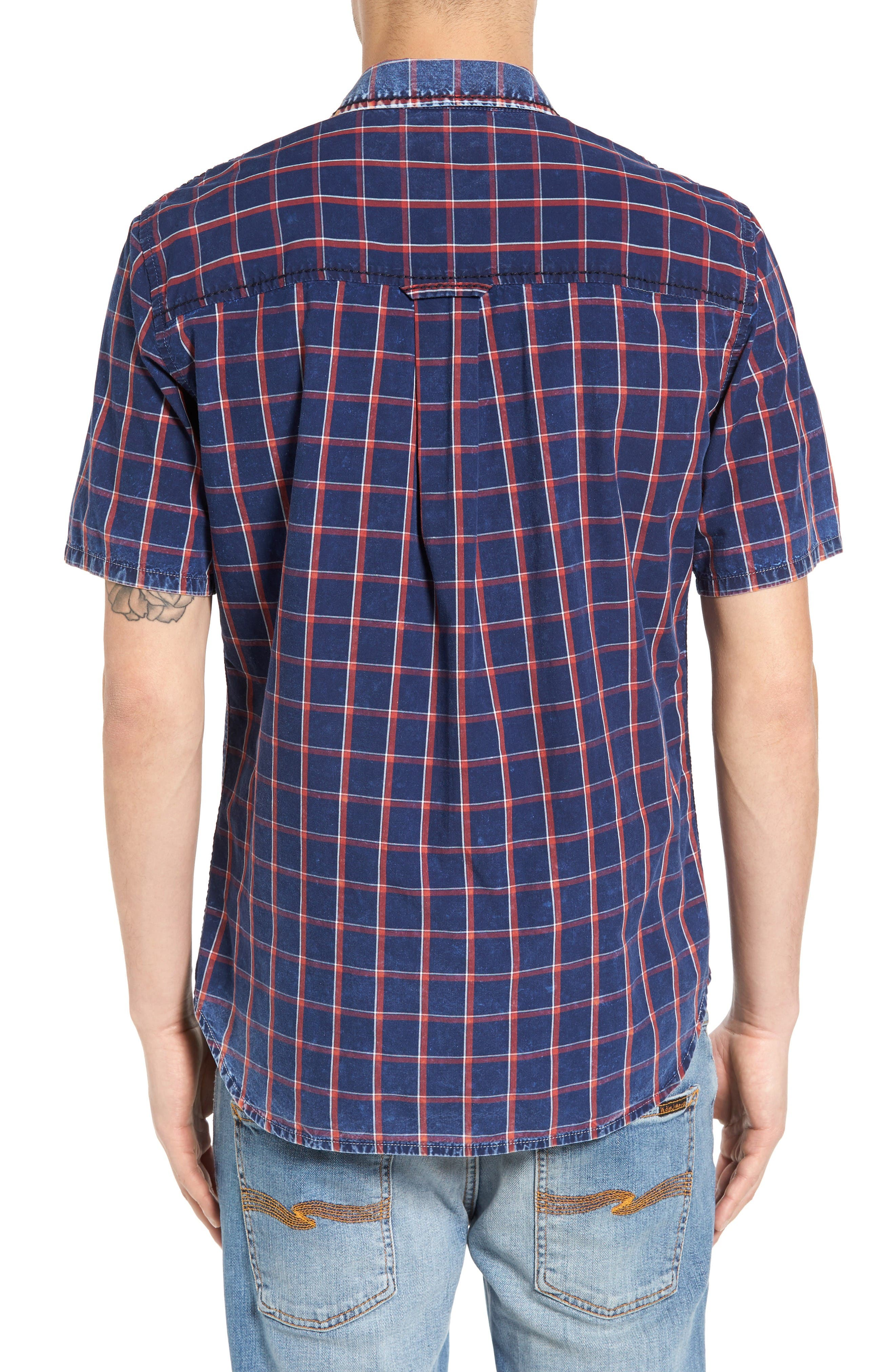 Plaid Shirt,                             Alternate thumbnail 2, color,                             Window Plaid