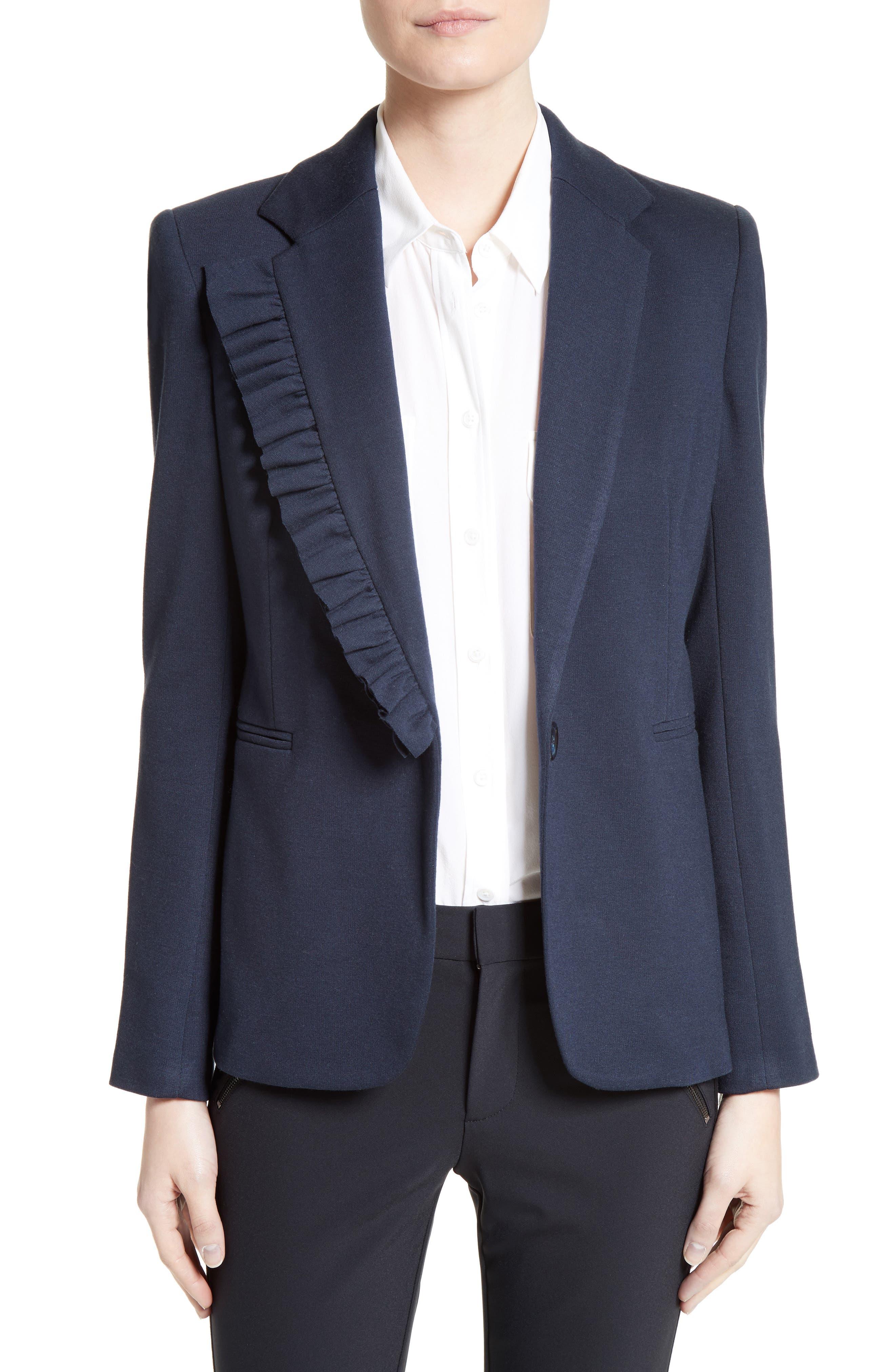 Helene Berman Frill Lapel Jacket