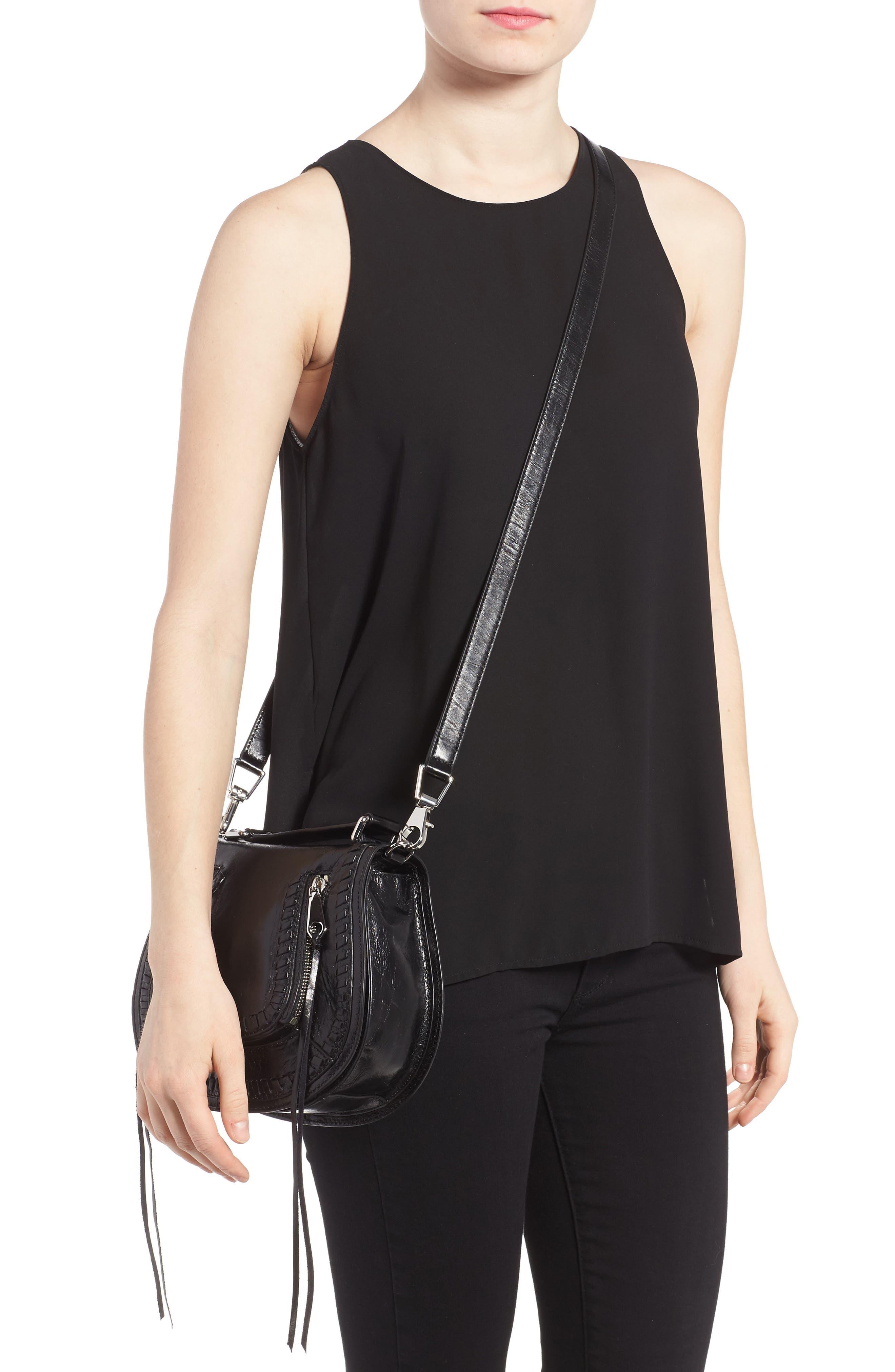 Alternate Image 2  - Rebecca Minkoff Small Vanity Leather Saddle Bag