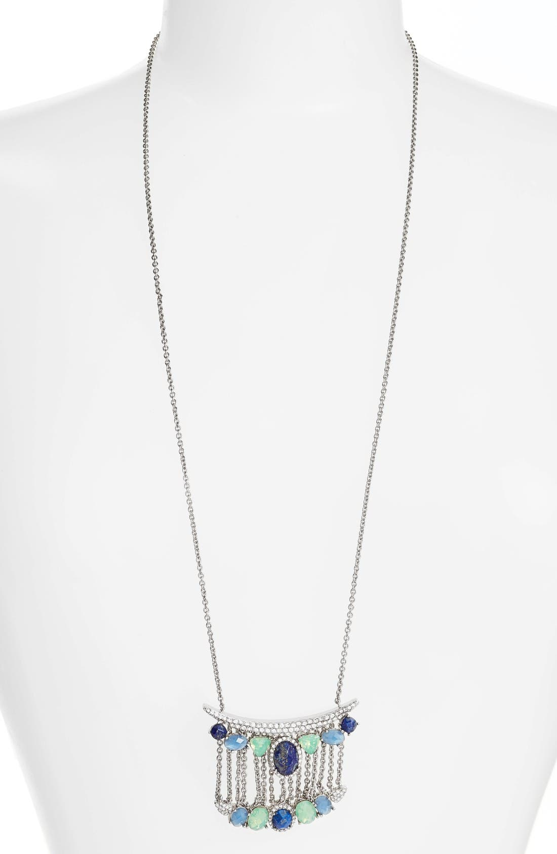 Alternate Image 1 Selected - Jenny Packham Wanderlust Pendant Necklace