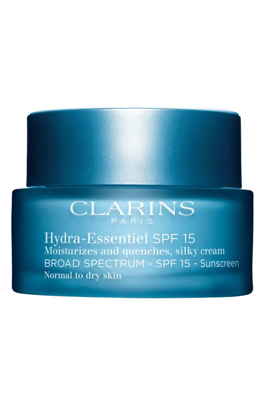 Main Image - Clarins Hydra-Essentiel Silk Cream SPF 15