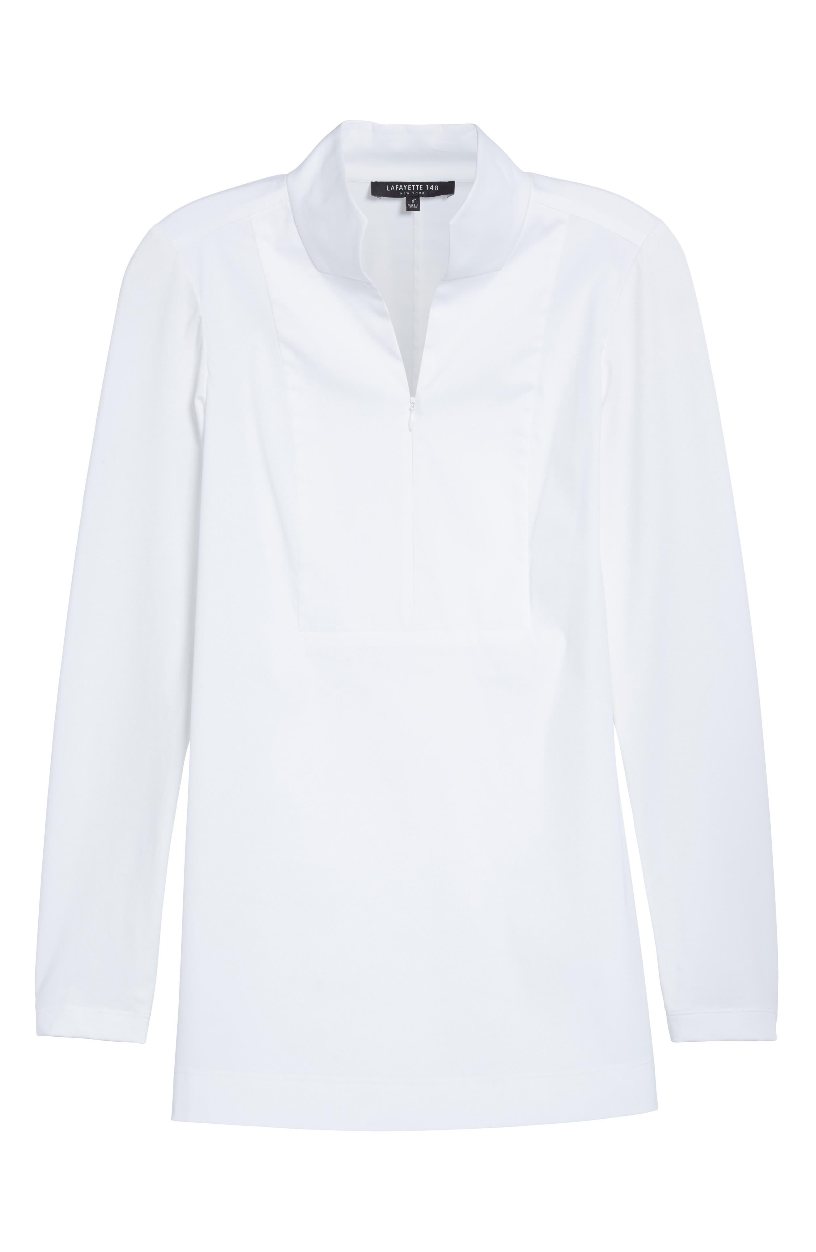 Alternate Image 4  - Lafayette 148 New York Marco Jersey Sleeve Tunic