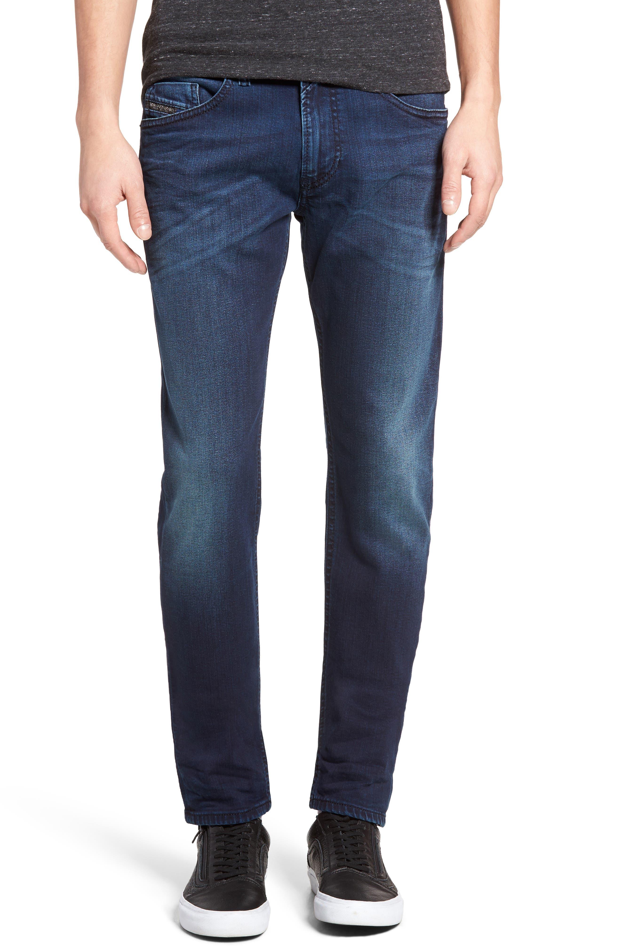 Alternate Image 1 Selected - DIESEL® Thommer Skinny Fit Jeans (084BV)