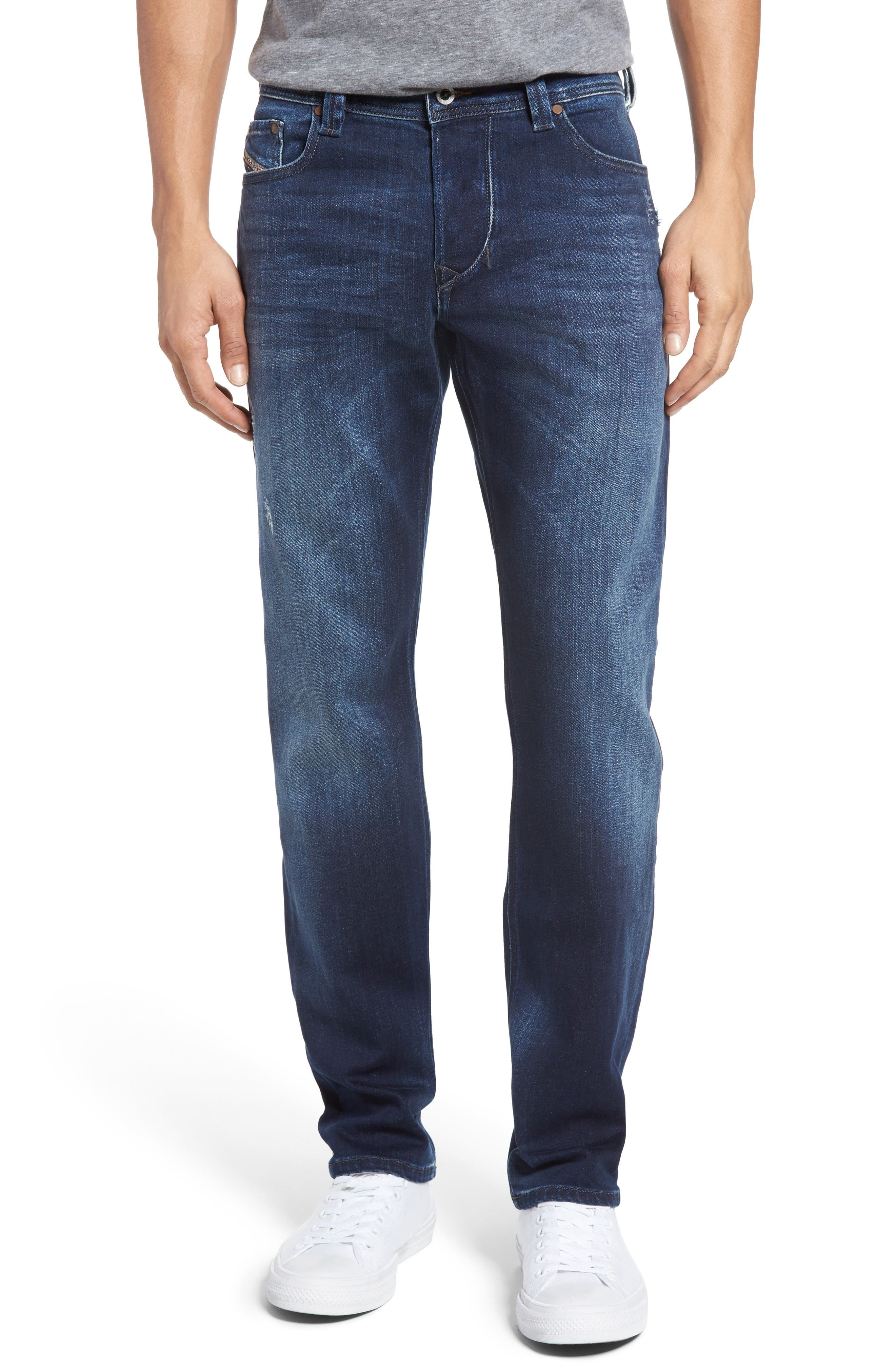 DIESEL<SUP>®</SUP> Larkee Straight Leg Jeans