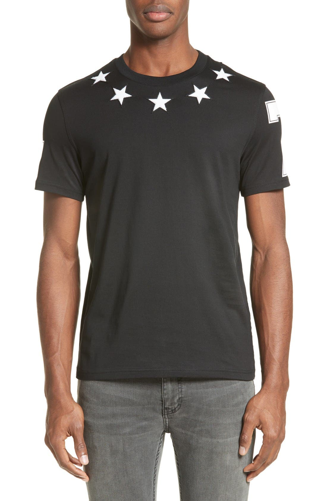 Star 74 T-Shirt,                         Main,                         color, Black