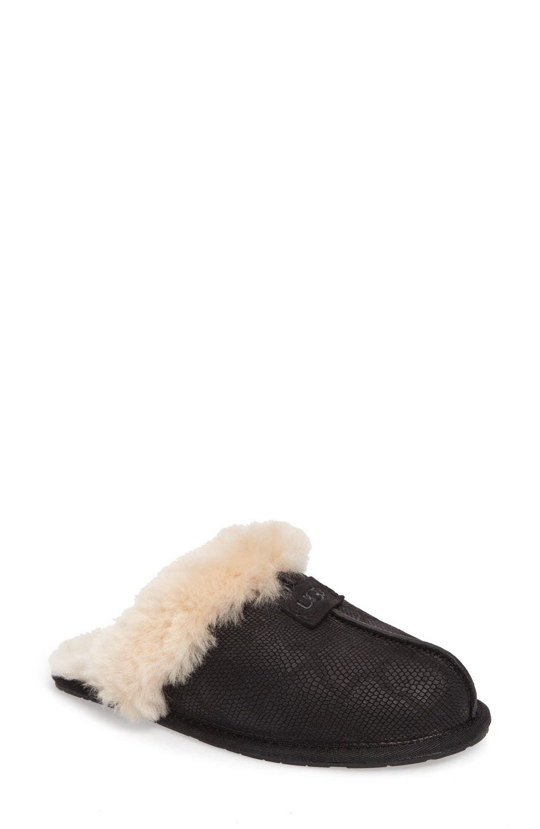 Alternate Image 1 Selected - UGG® Scuffette II Snake Embossed Slipper (Women)