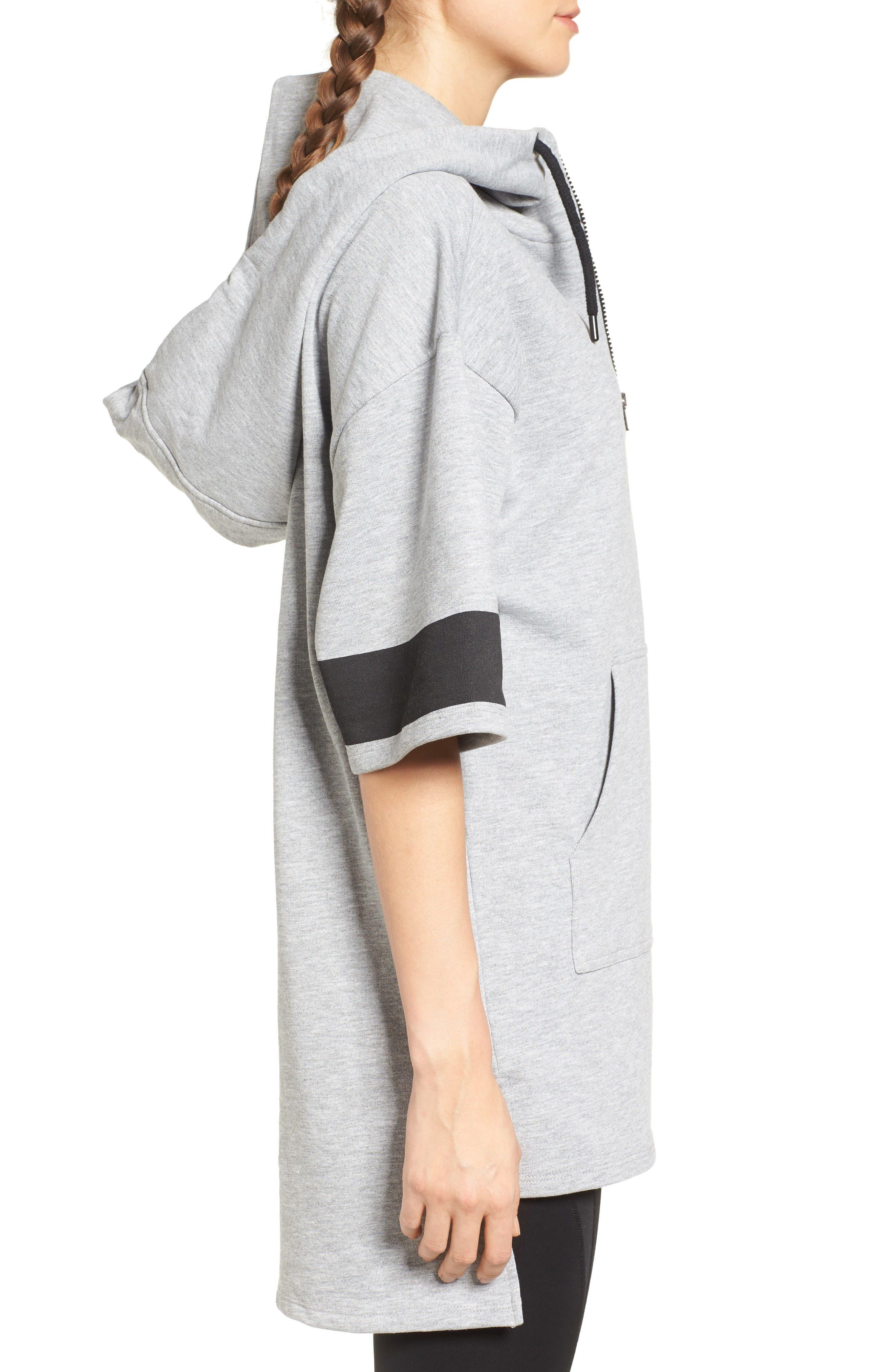 Alternate Image 3  - IVY PARK® Logo Sleeve Hoodie