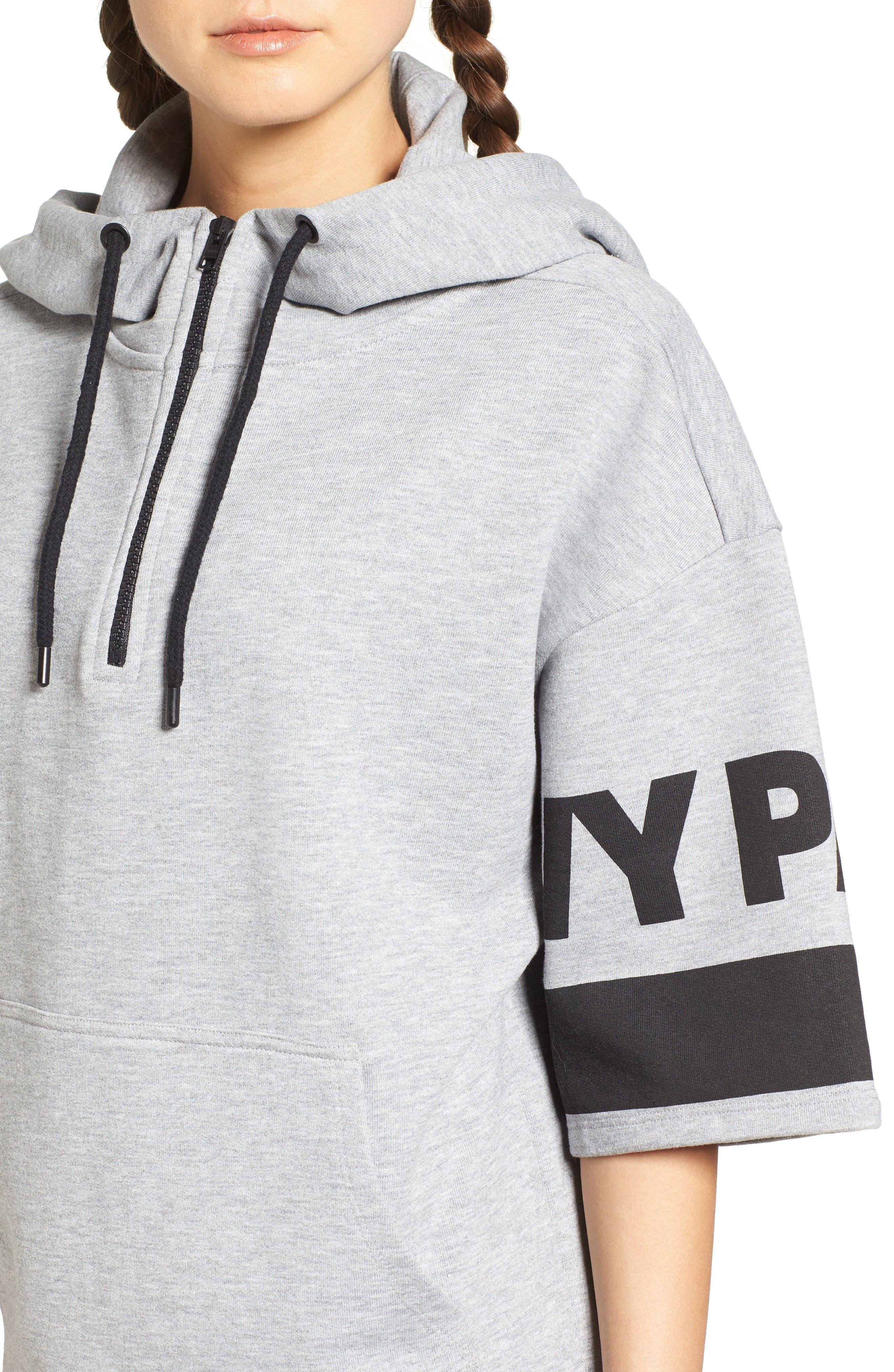 Alternate Image 4  - IVY PARK® Logo Sleeve Hoodie