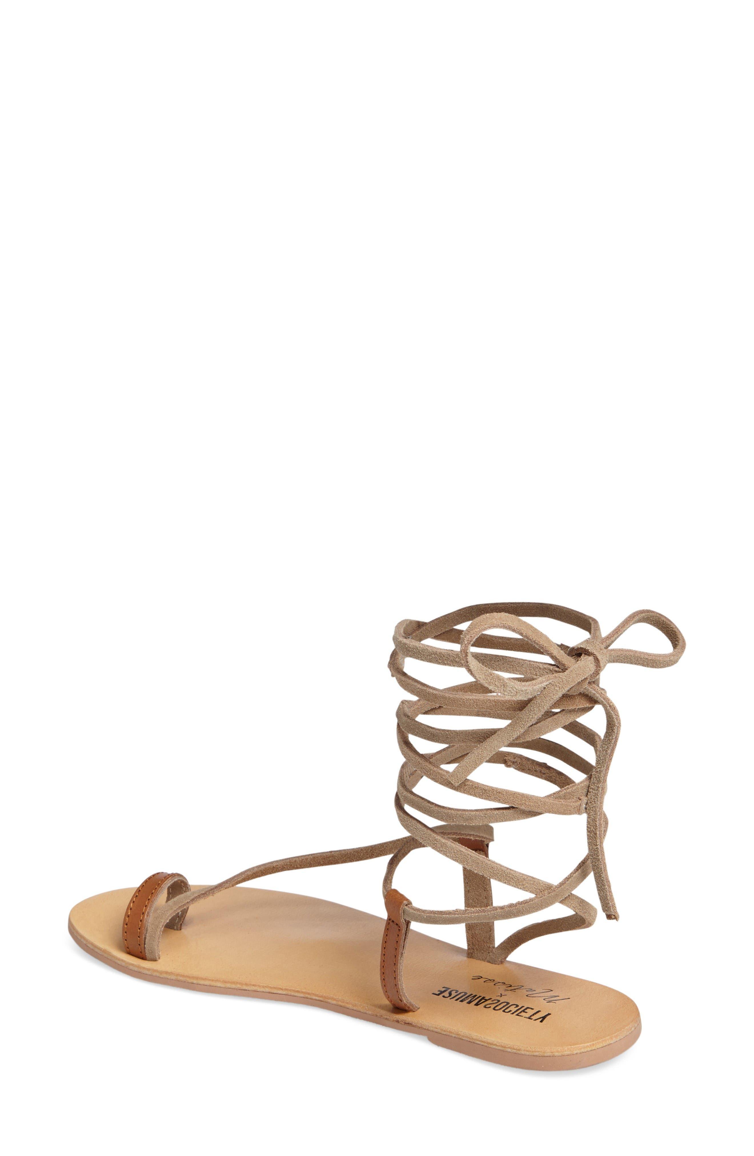 Alternate Image 2  - Amuse Society x Matisse Getaway Wraparound Sandal (Women)